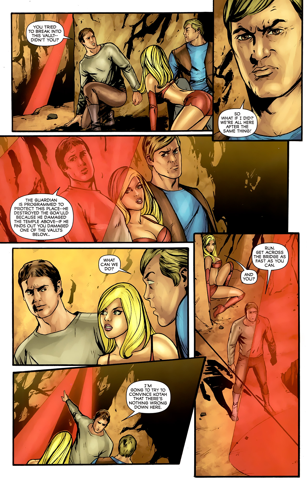 Read online Stargate: Daniel Jackson comic -  Issue #4 - 6