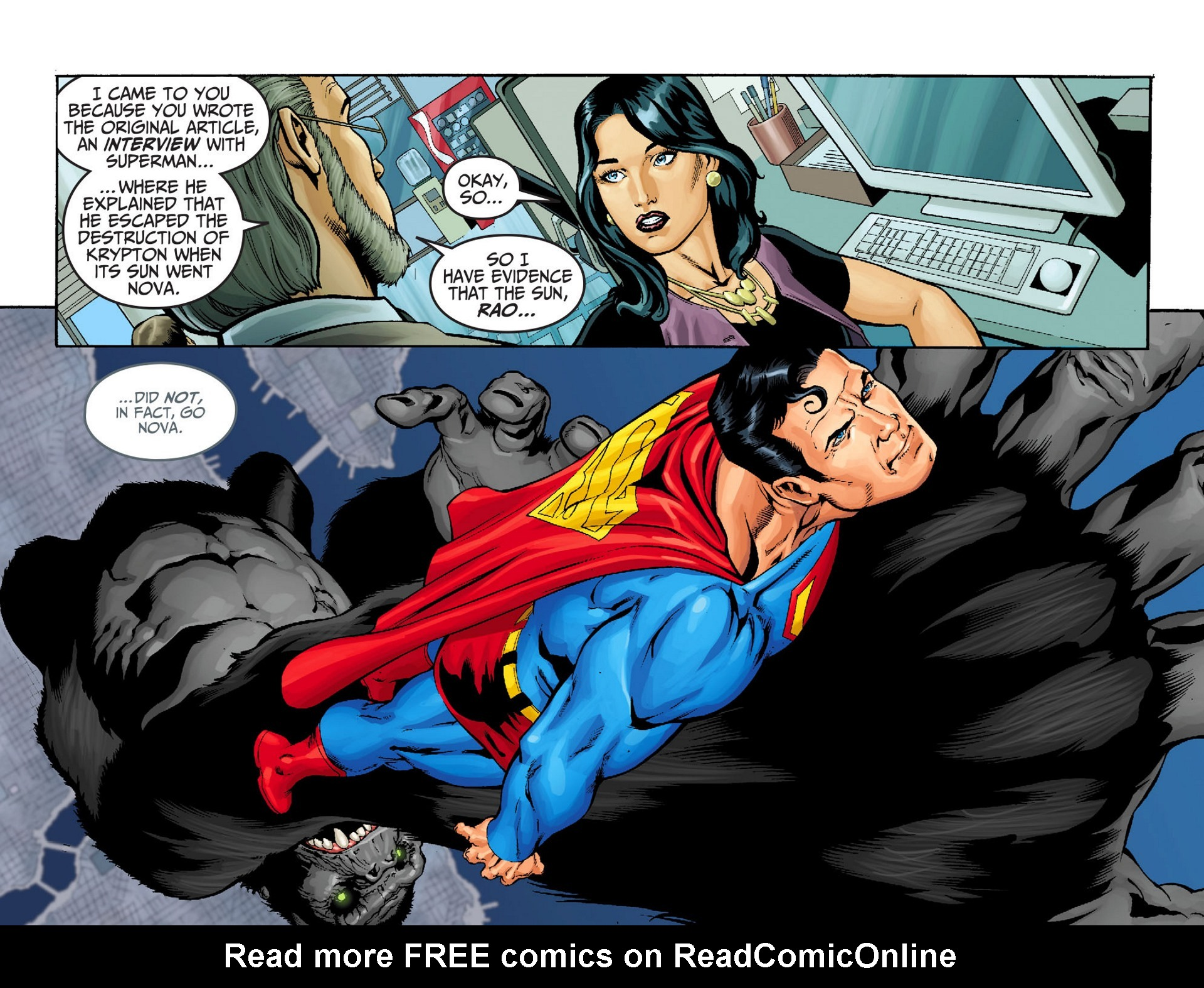 Read online Adventures of Superman [I] comic -  Issue #22 - 9