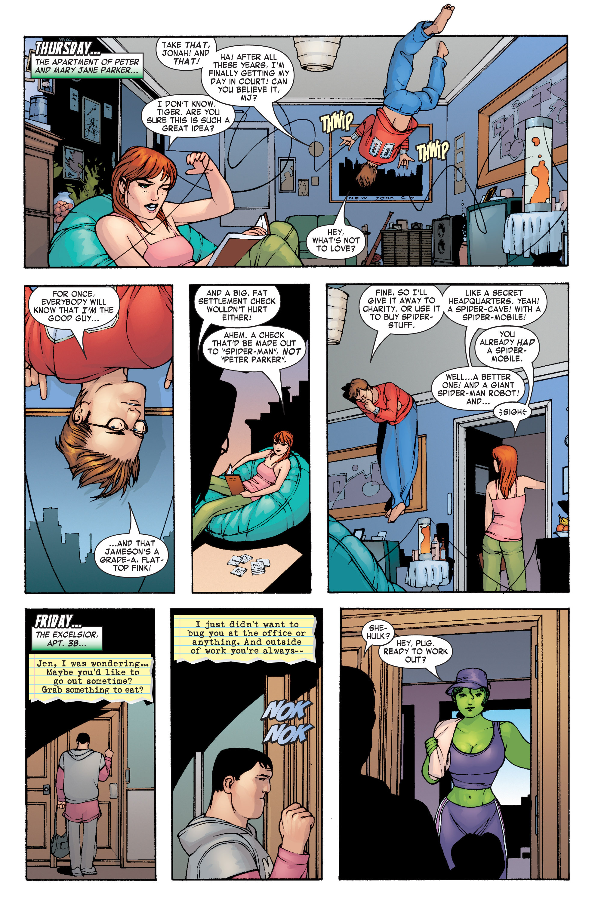 Read online She-Hulk (2004) comic -  Issue #4 - 5