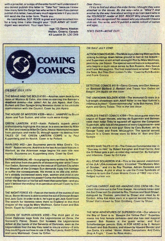 Read online Sgt. Rock comic -  Issue #369 - 26