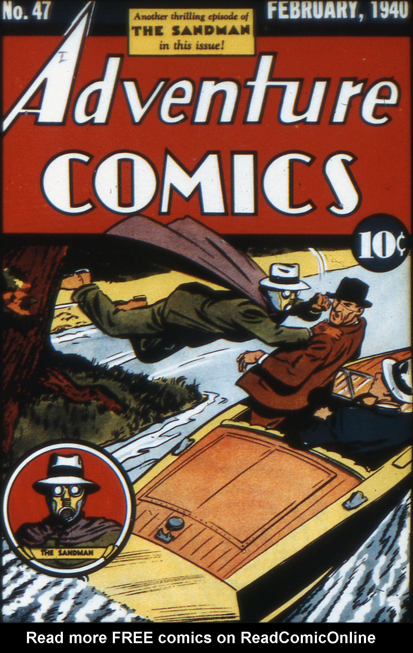 Read online Adventure Comics (1938) comic -  Issue #47 - 1