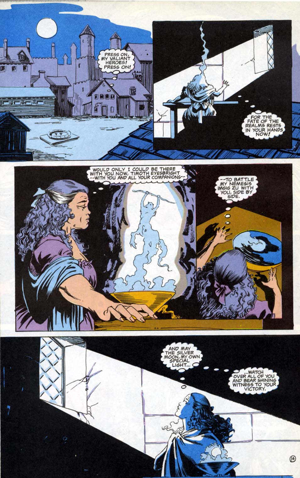 Read online Advanced Dungeons & Dragons comic -  Issue #4 - 14