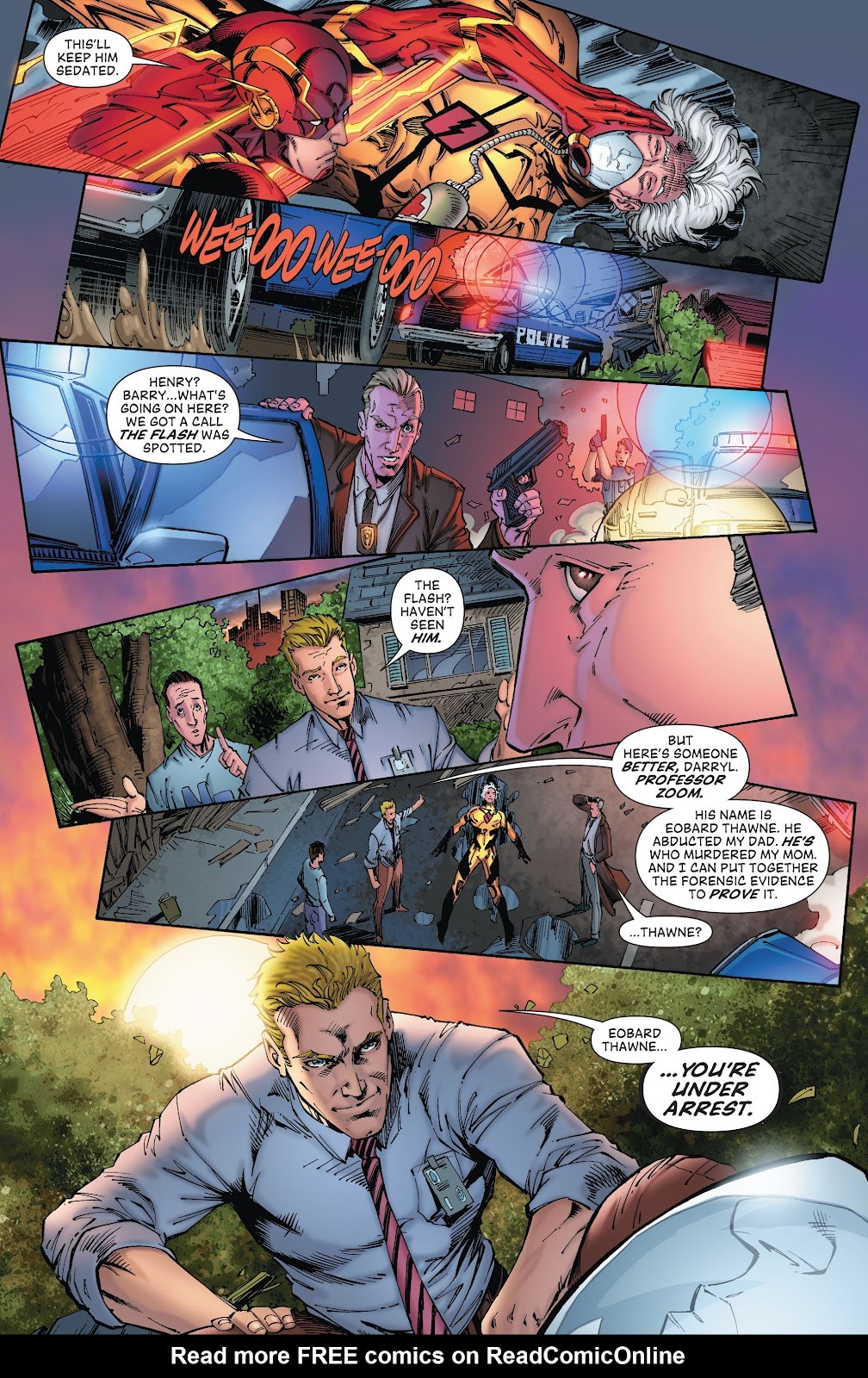 Read online The Flash (2011) comic -  Issue # _TPB 8 (Part 2) - 106