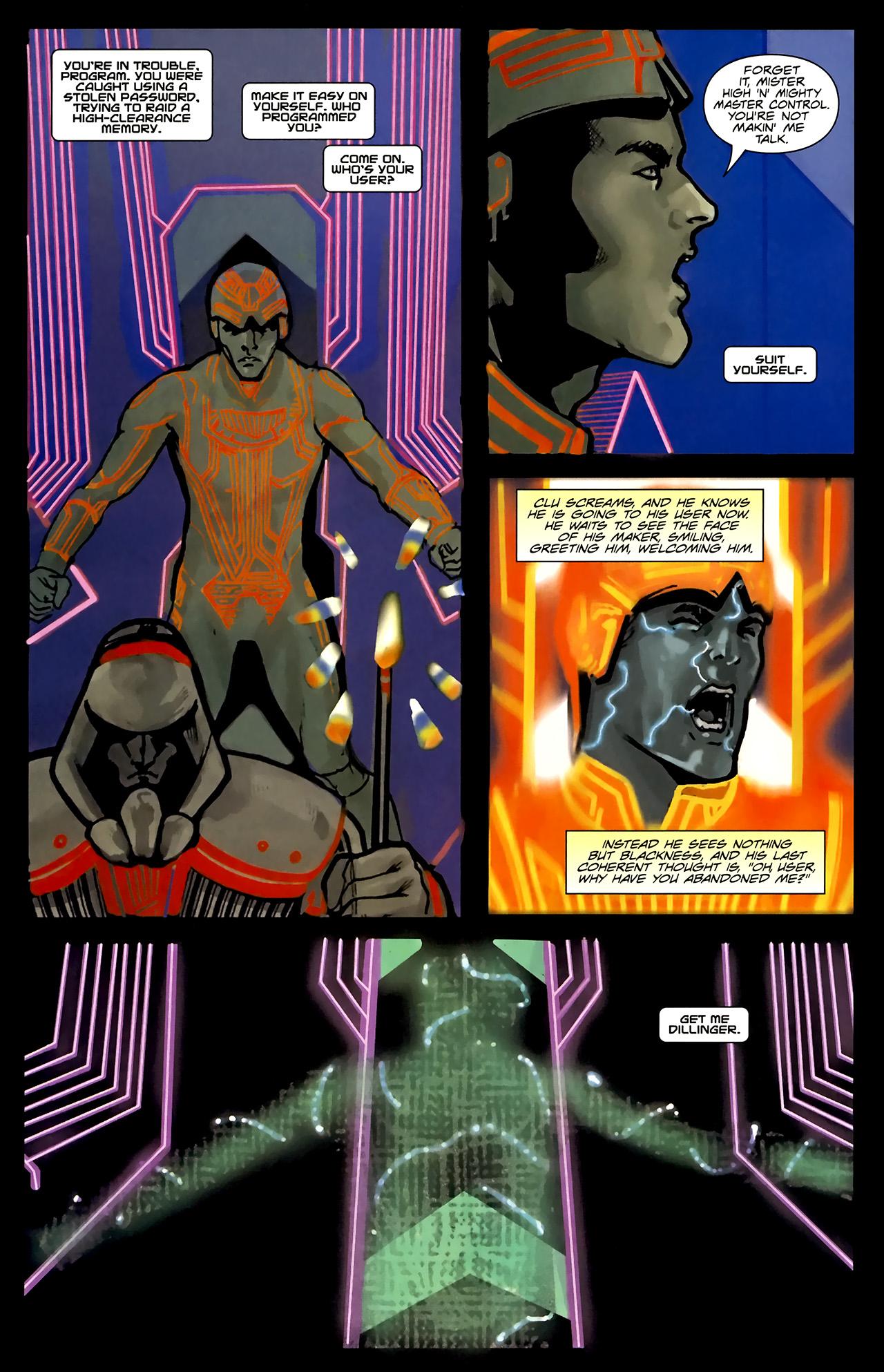 Read online TRON: Original Movie Adaptation comic -  Issue #1 - 14