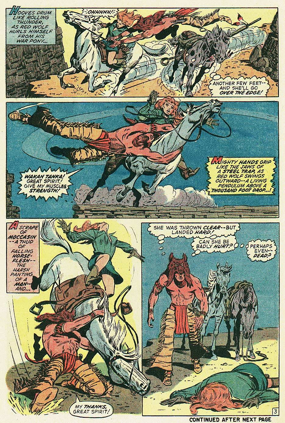 Red Wolf (1972) issue 2 - Page 4