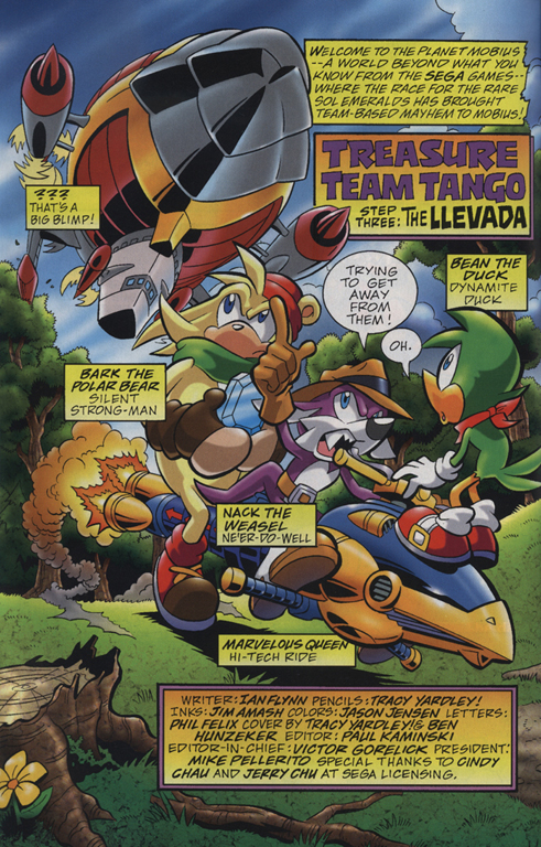 Read online Sonic Universe comic -  Issue #23 - 3