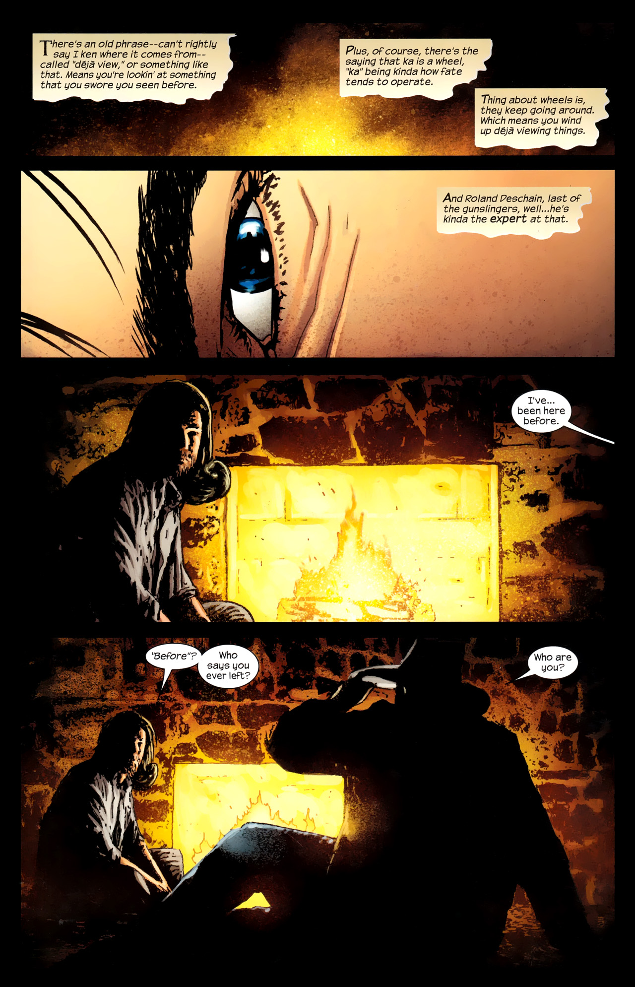 Read online Dark Tower: The Gunslinger - The Way Station comic -  Issue #1 - 3