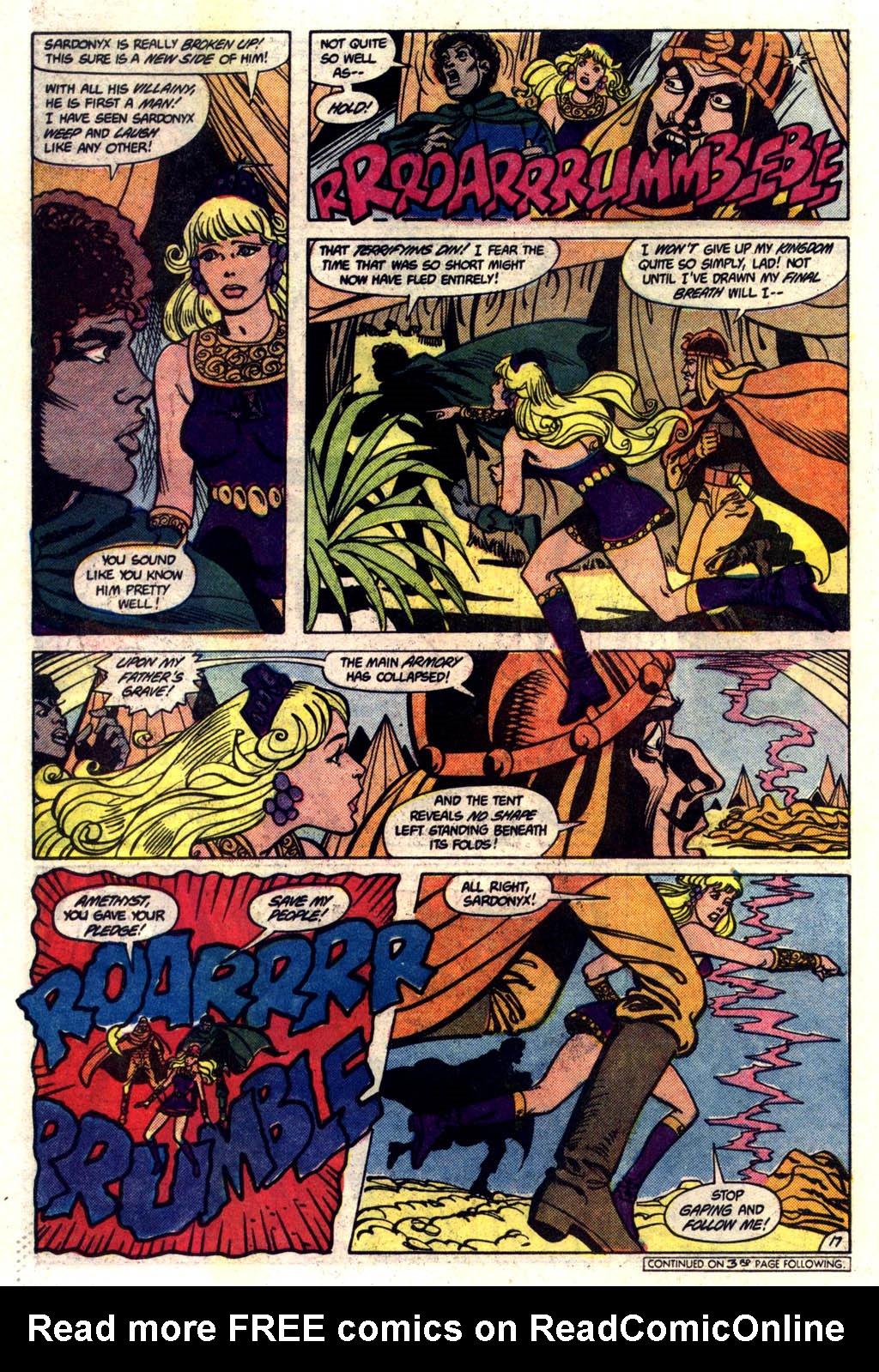 Read online Amethyst (1985) comic -  Issue #6 - 18
