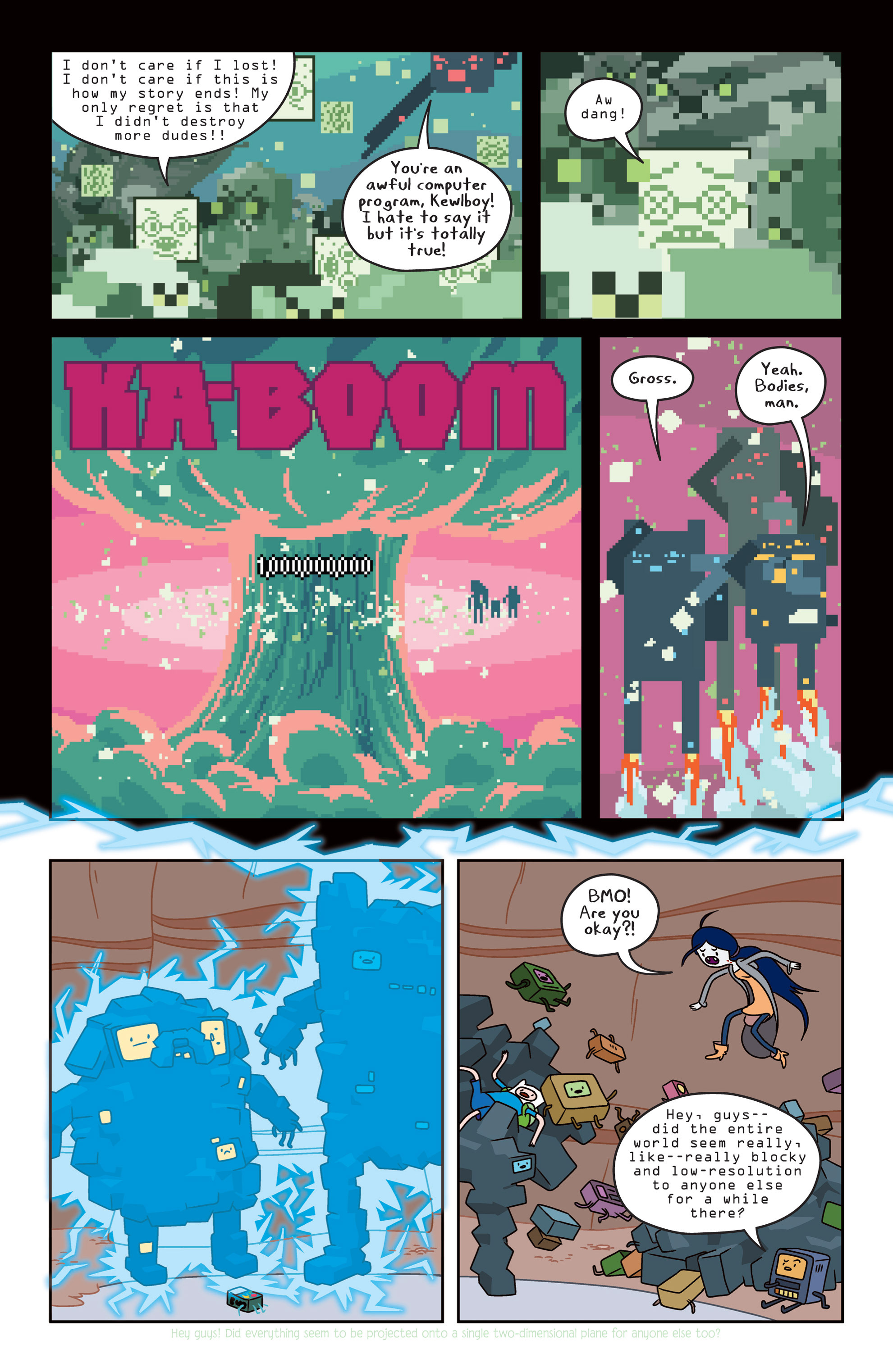 Read online Adventure Time comic -  Issue #14 - 18