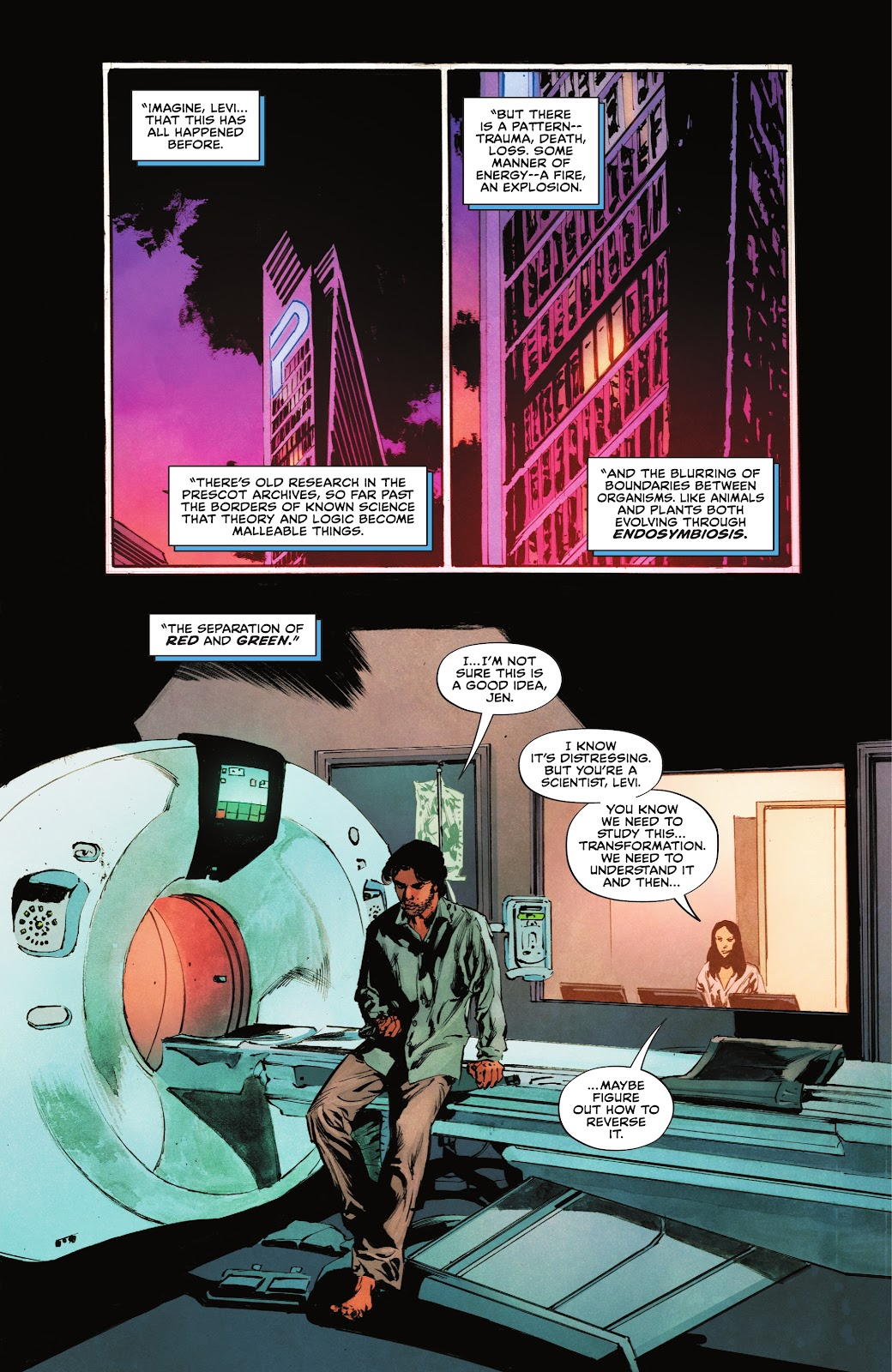 The Swamp Thing issue 3 - Page 3