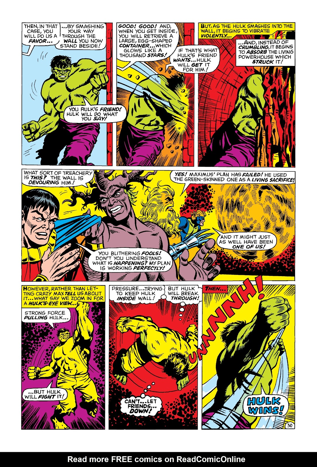 Read online Marvel Masterworks: The Incredible Hulk comic -  Issue # TPB 4 (Part 2) - 63