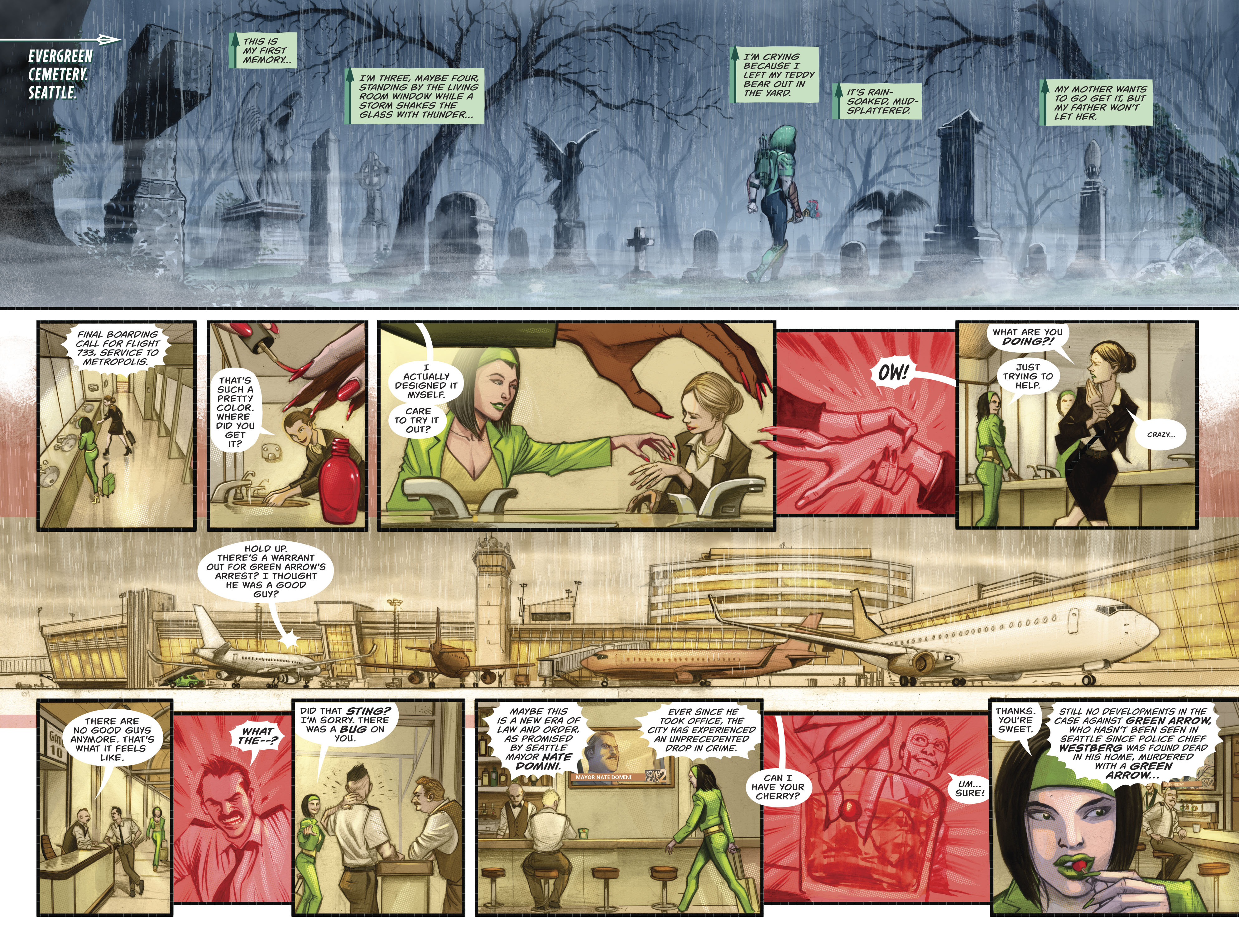 Read online Green Arrow (2016) comic -  Issue #21 - 5