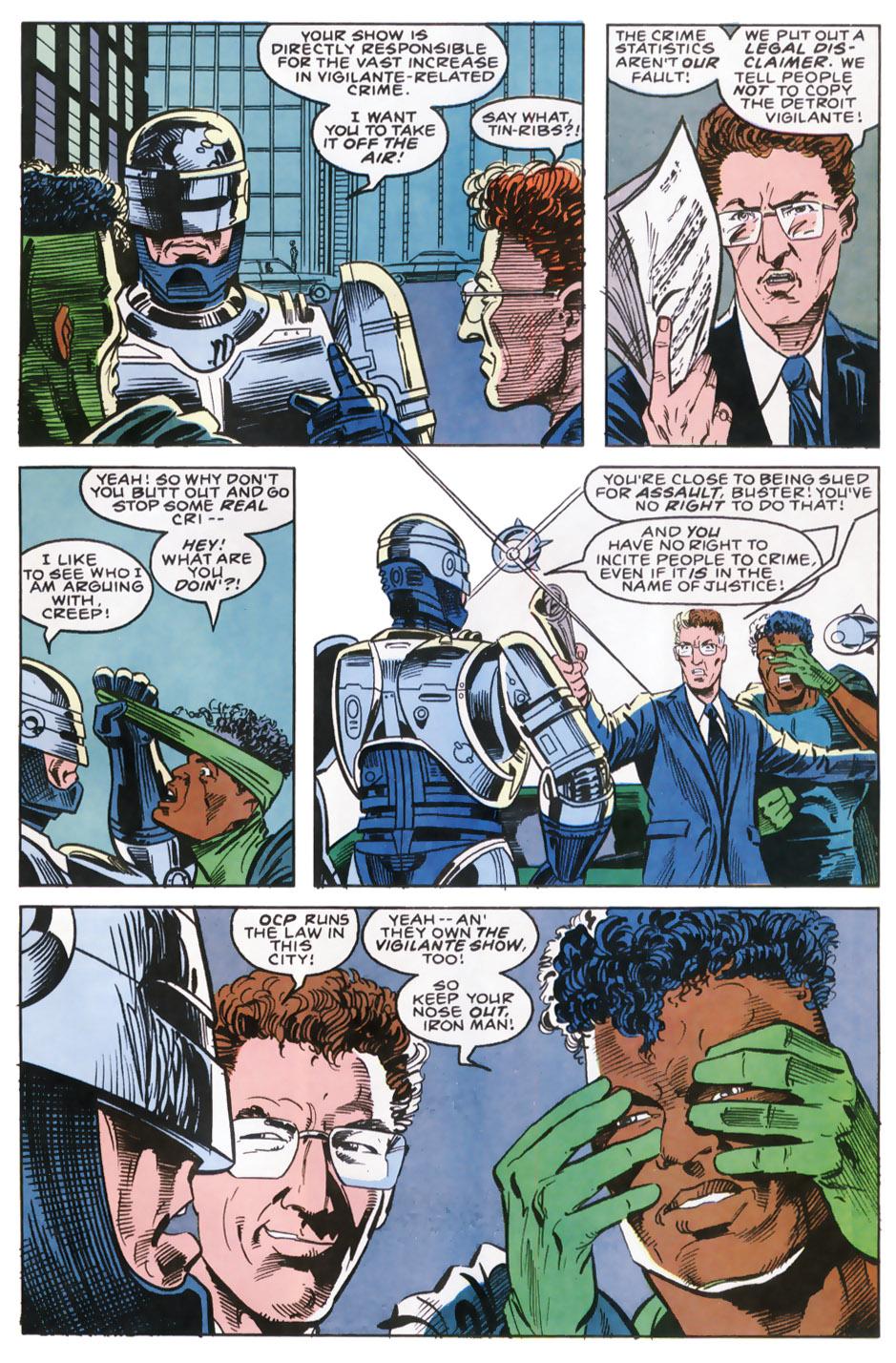 Read online Robocop (1990) comic -  Issue #9 - 18