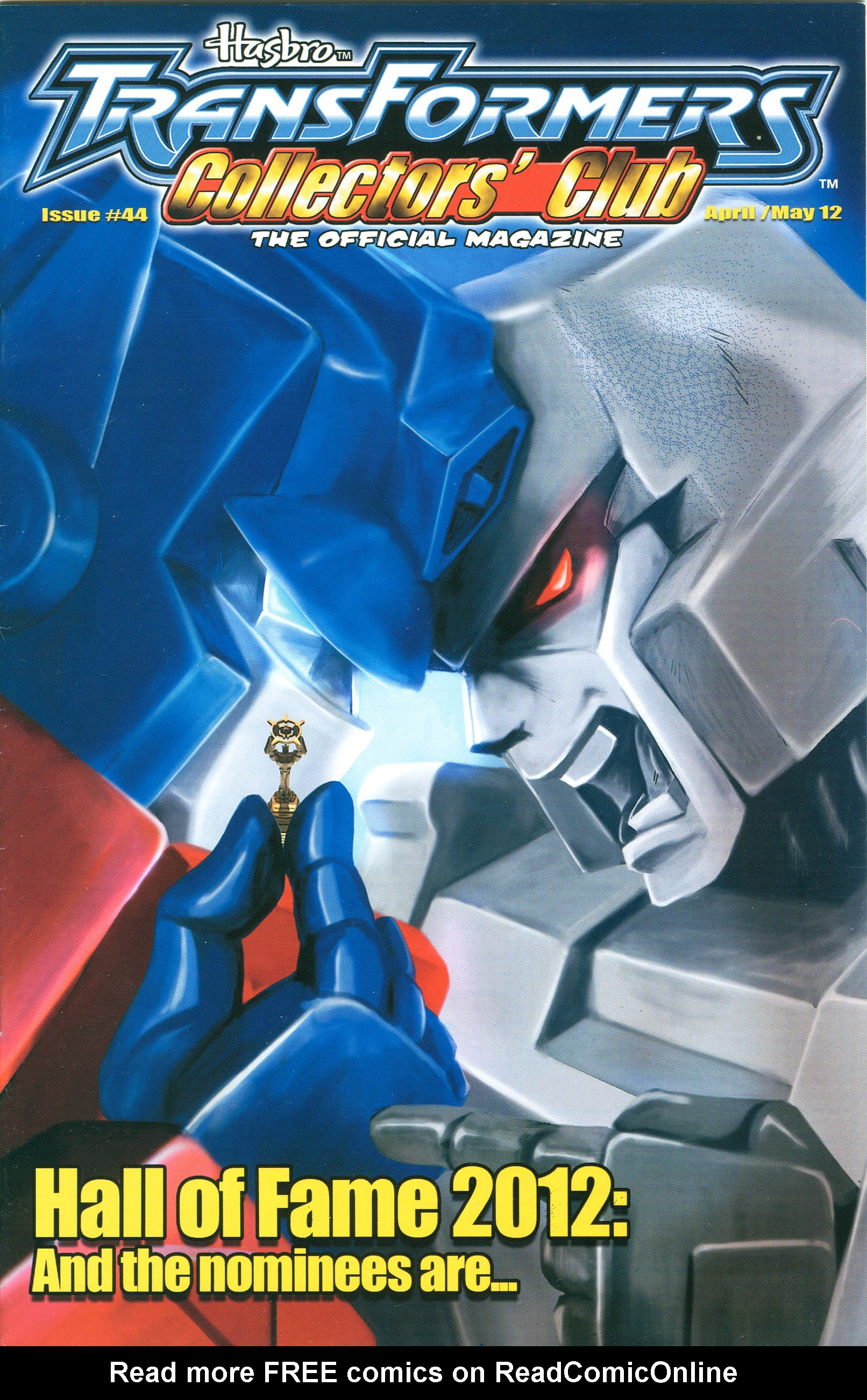 Read online Transformers: Collectors' Club comic -  Issue #44 - 1