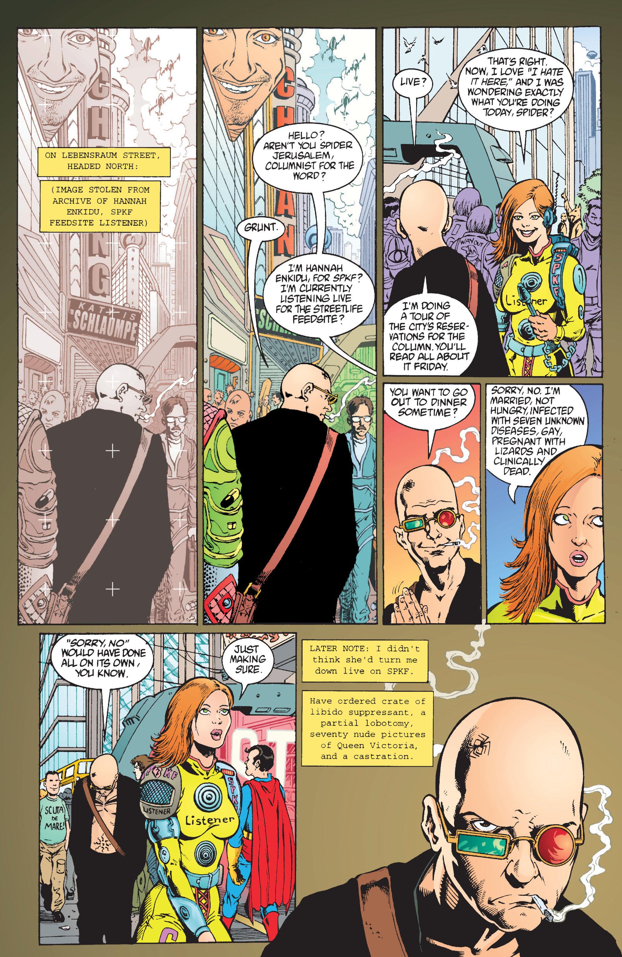 Read online Transmetropolitan comic -  Issue #9 - 16