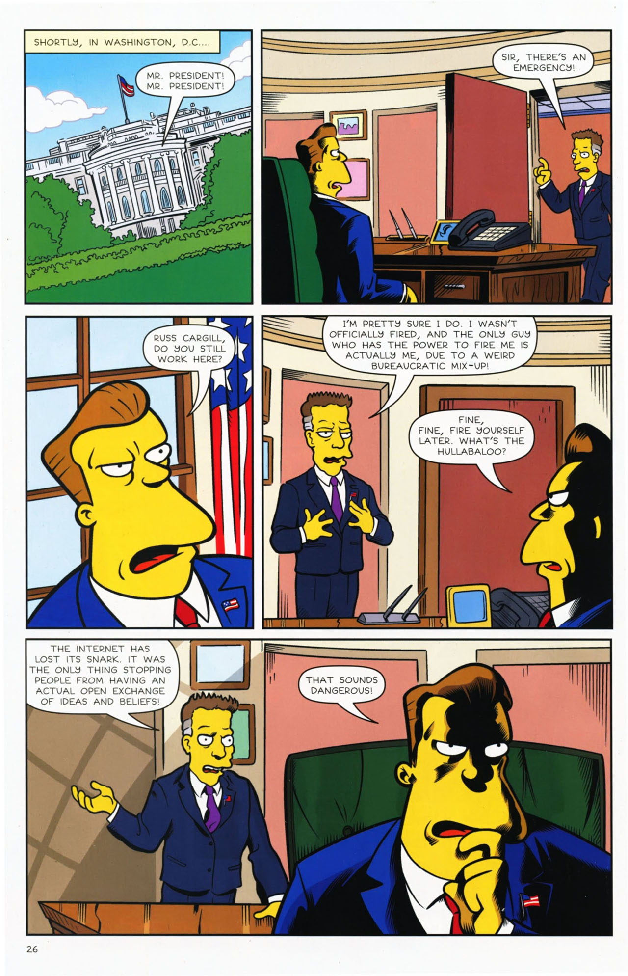 Read online Bongo Comics presents Comic Book Guy: The Comic Book comic -  Issue #2 - 27