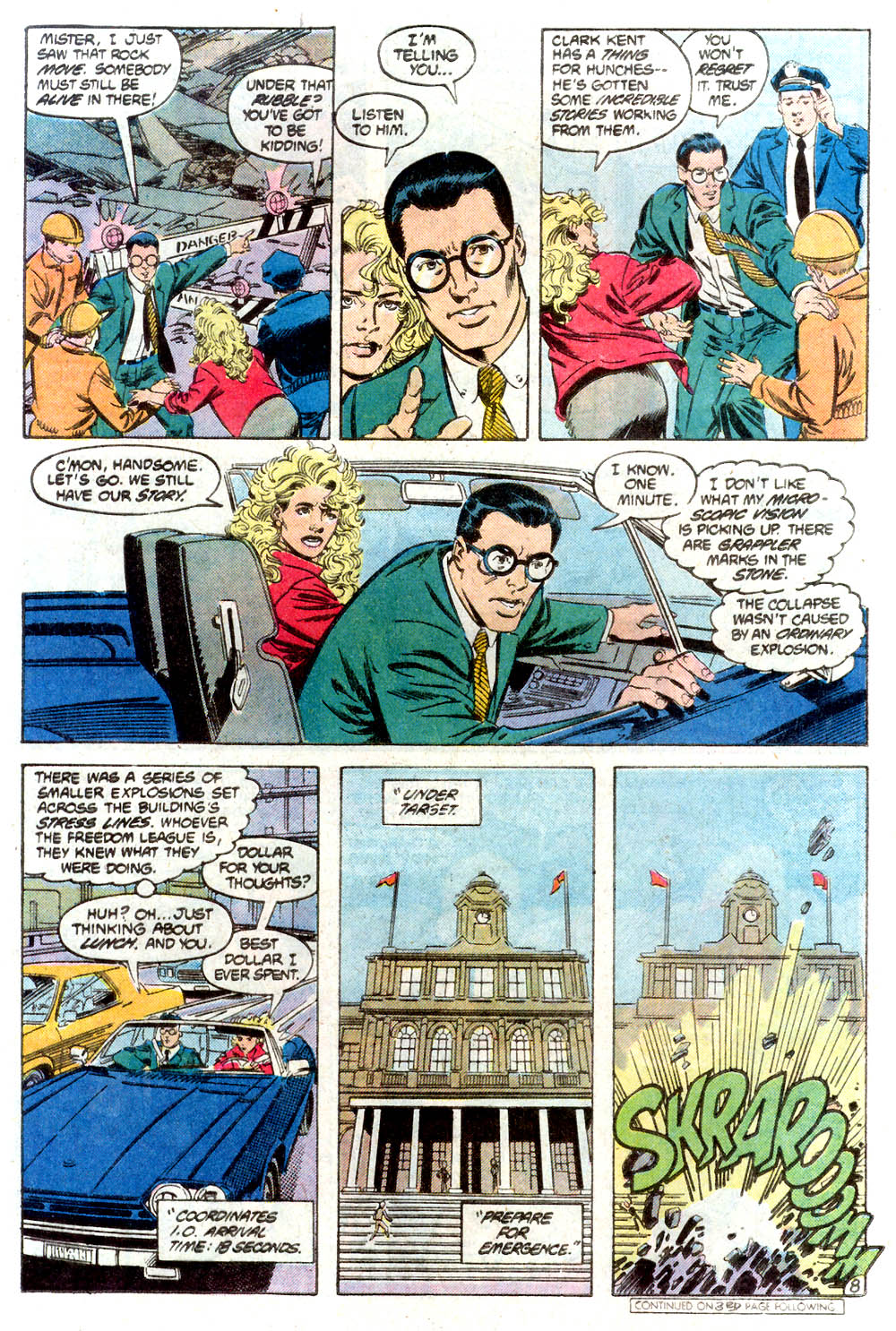 Read online Adventures of Superman (1987) comic -  Issue #424 - 9