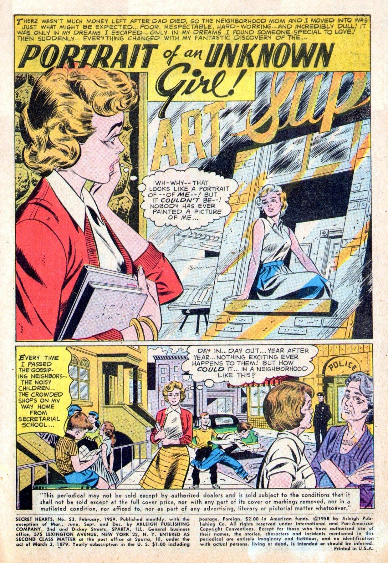 Read online Secret Hearts comic -  Issue #53 - 3