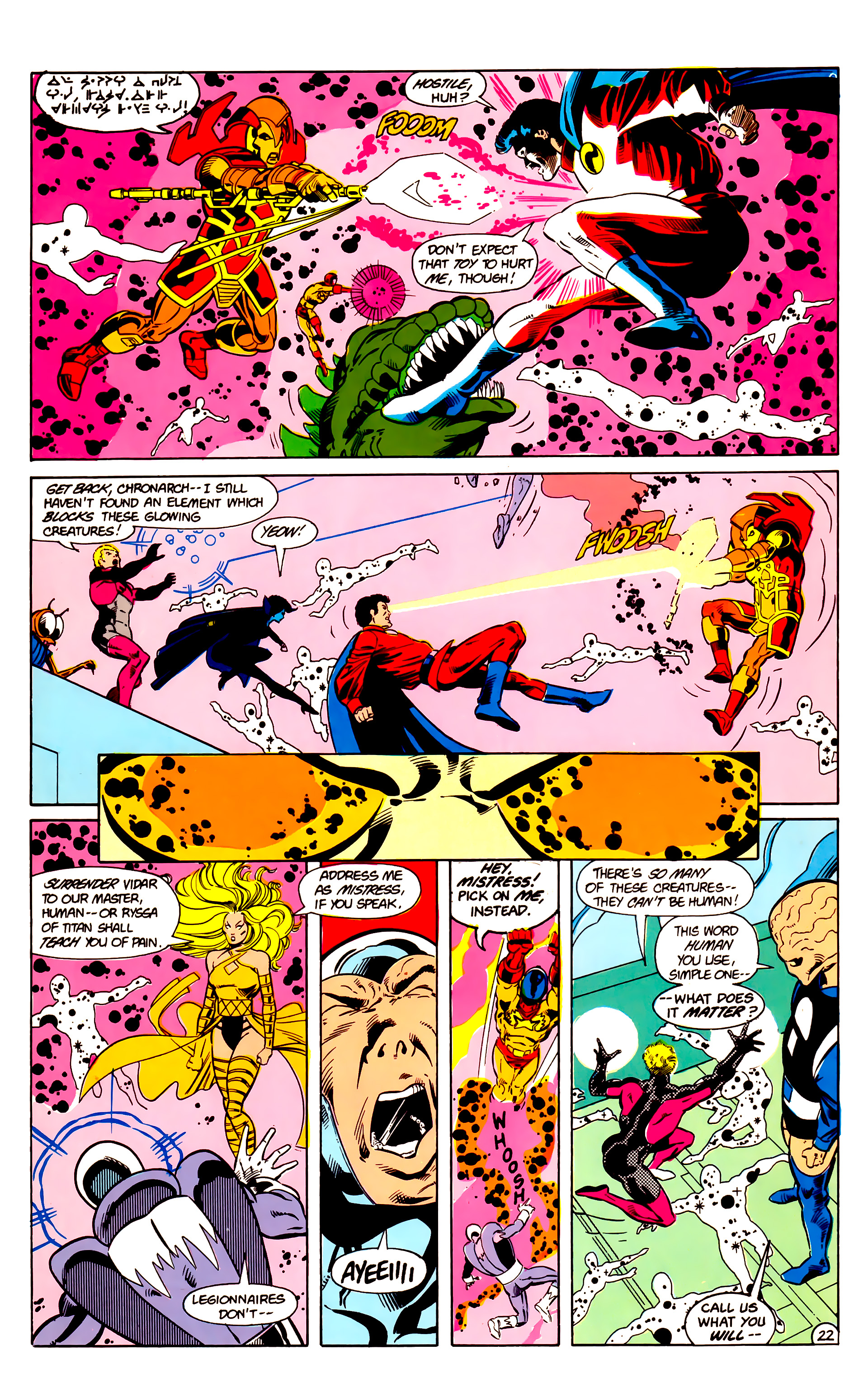 Legion of Super-Heroes (1984) 18 Page 22