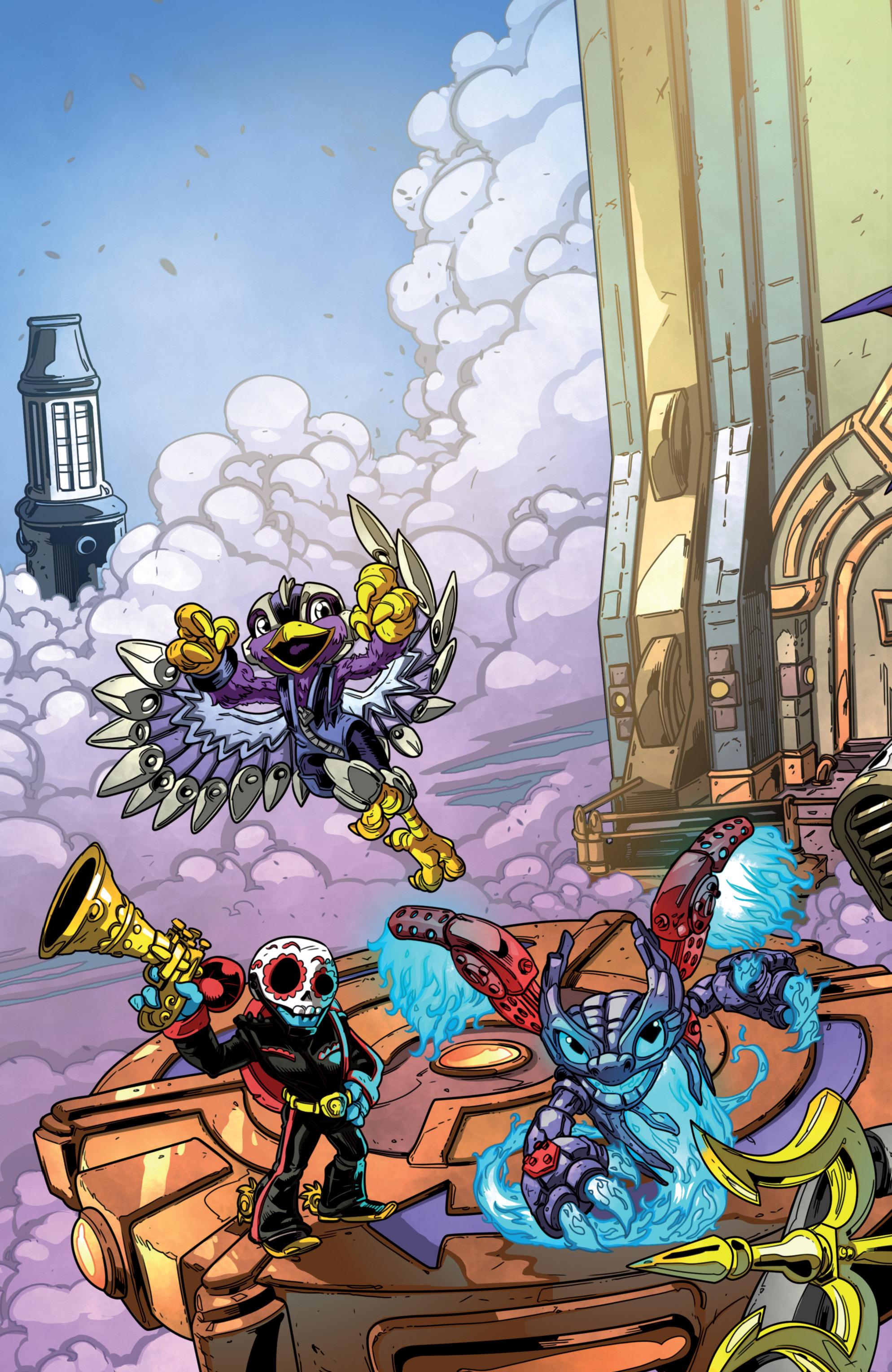 Read online Skylanders Superchargers comic -  Issue #1 - 25