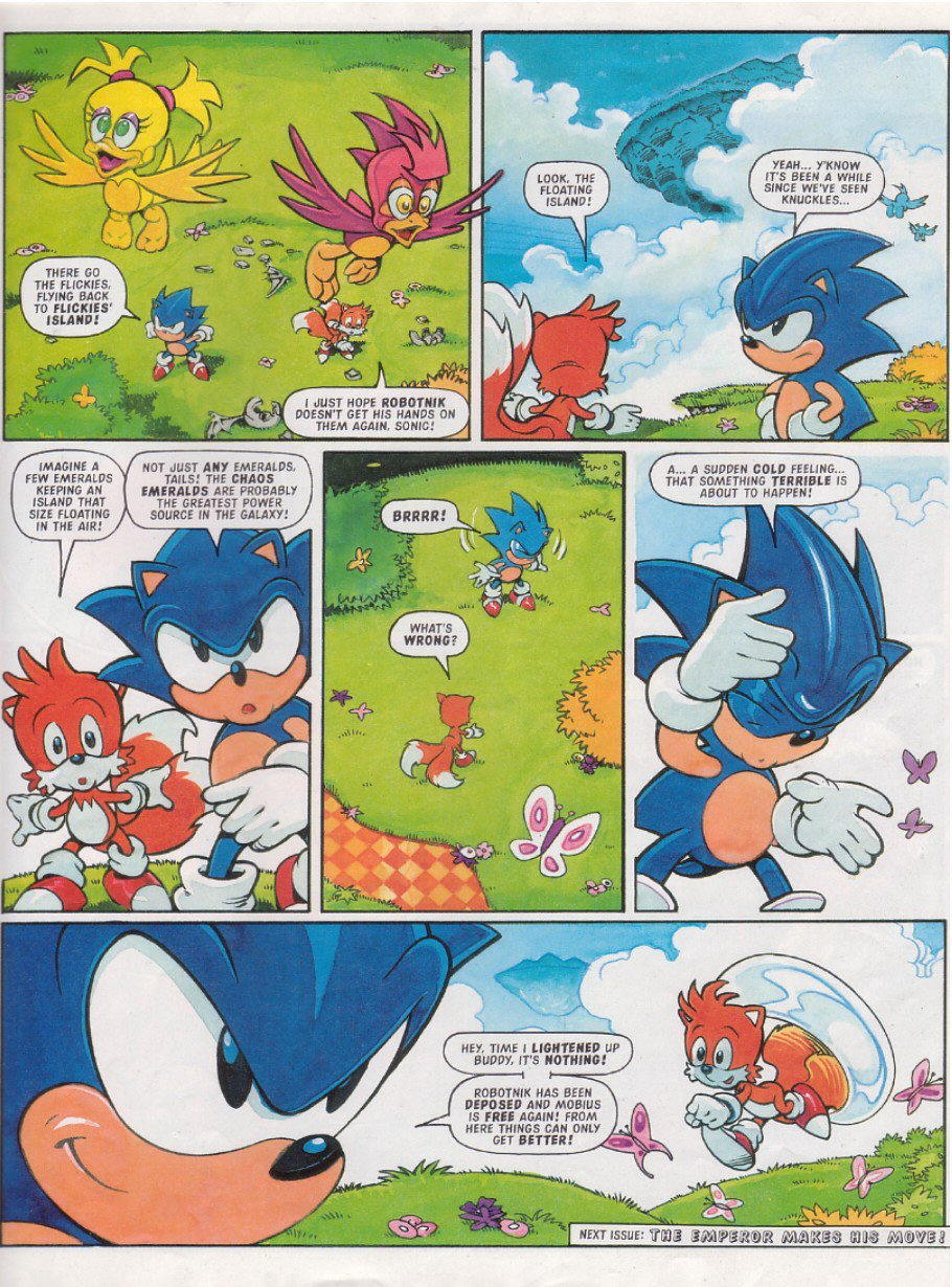 Read online Sonic the Comic comic -  Issue #116 - 9