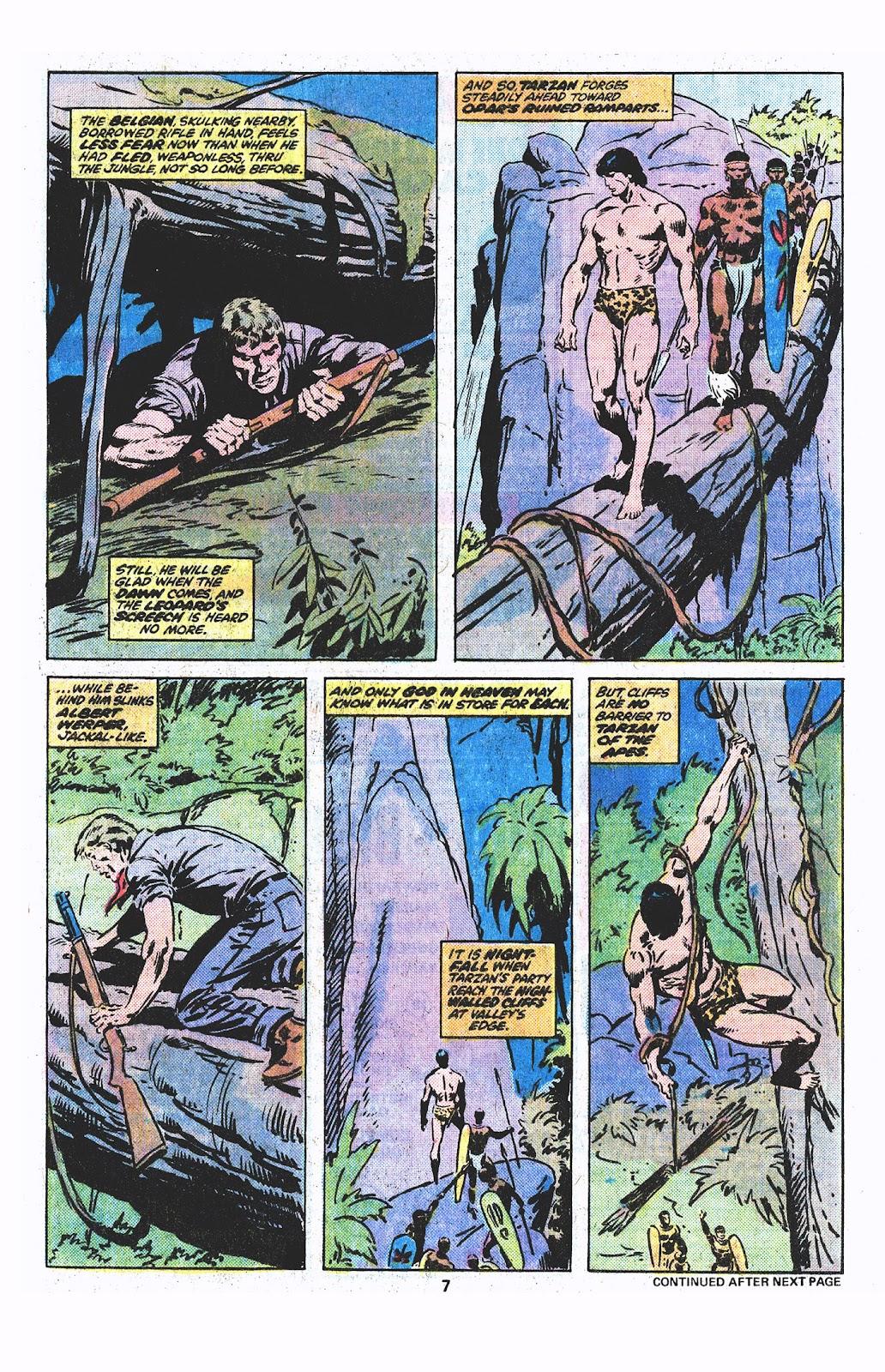 Tarzan (1977) issue 3 - Page 6