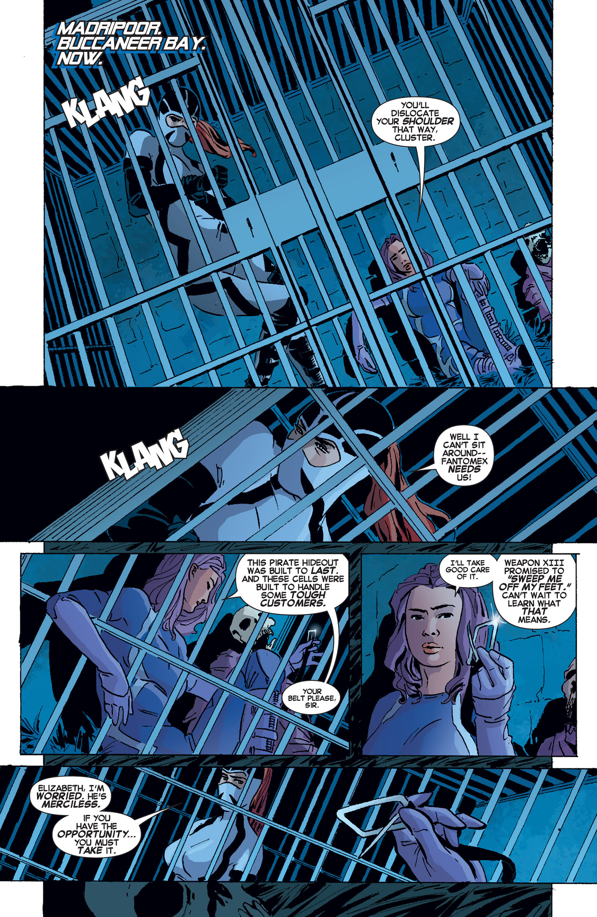 Read online Uncanny X-Force (2013) comic -  Issue #8 - 7