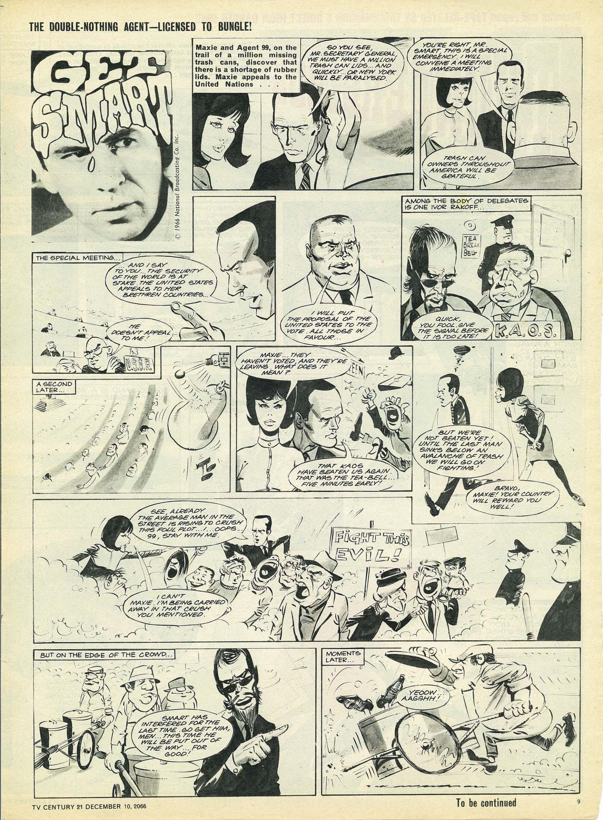 Read online TV Century 21 (TV 21) comic -  Issue #99 - 9