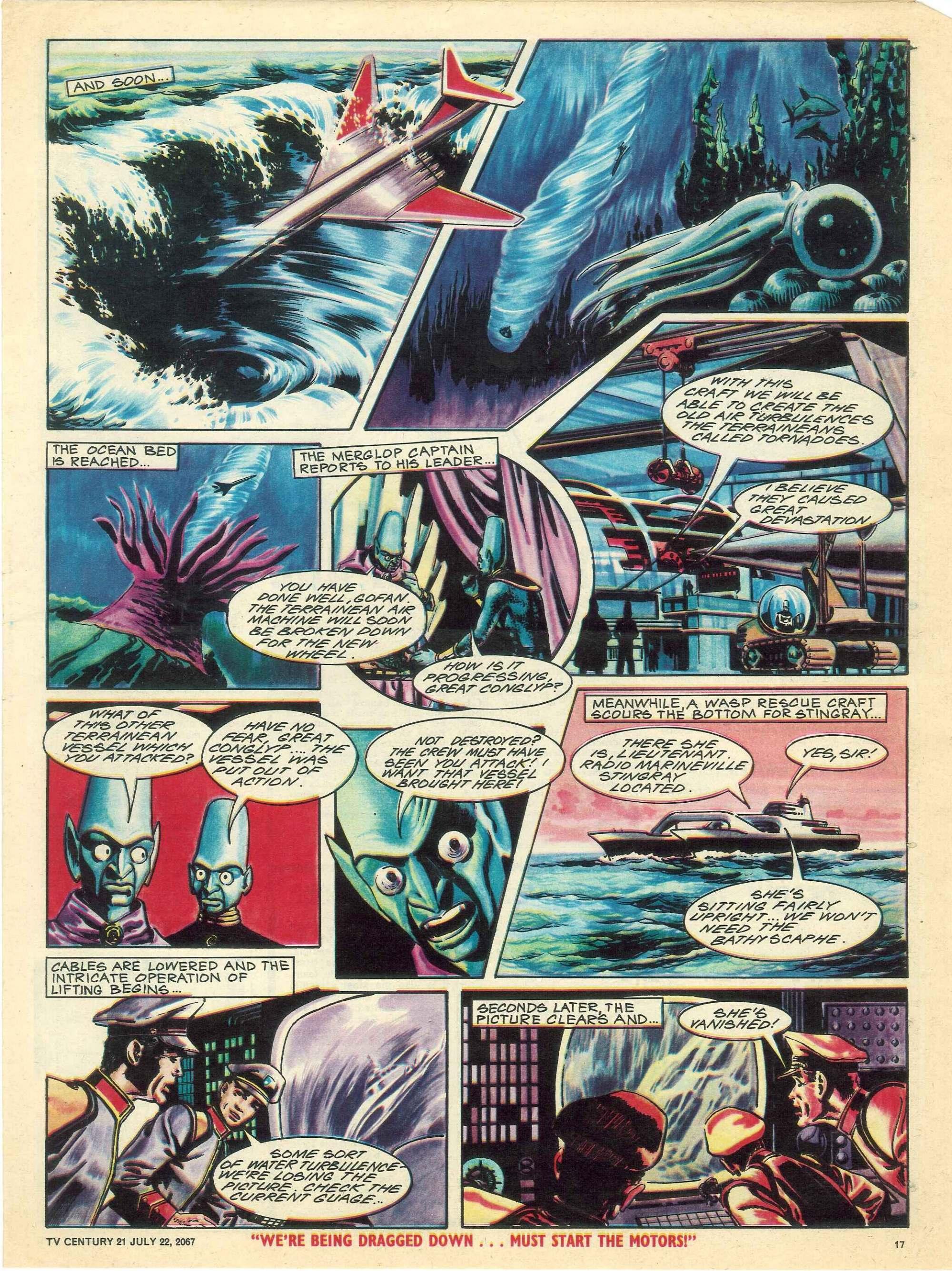 Read online TV Century 21 (TV 21) comic -  Issue #131 - 16