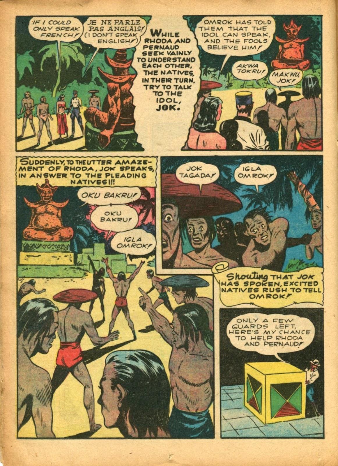 Read online Super-Magician Comics comic -  Issue #5 - 30