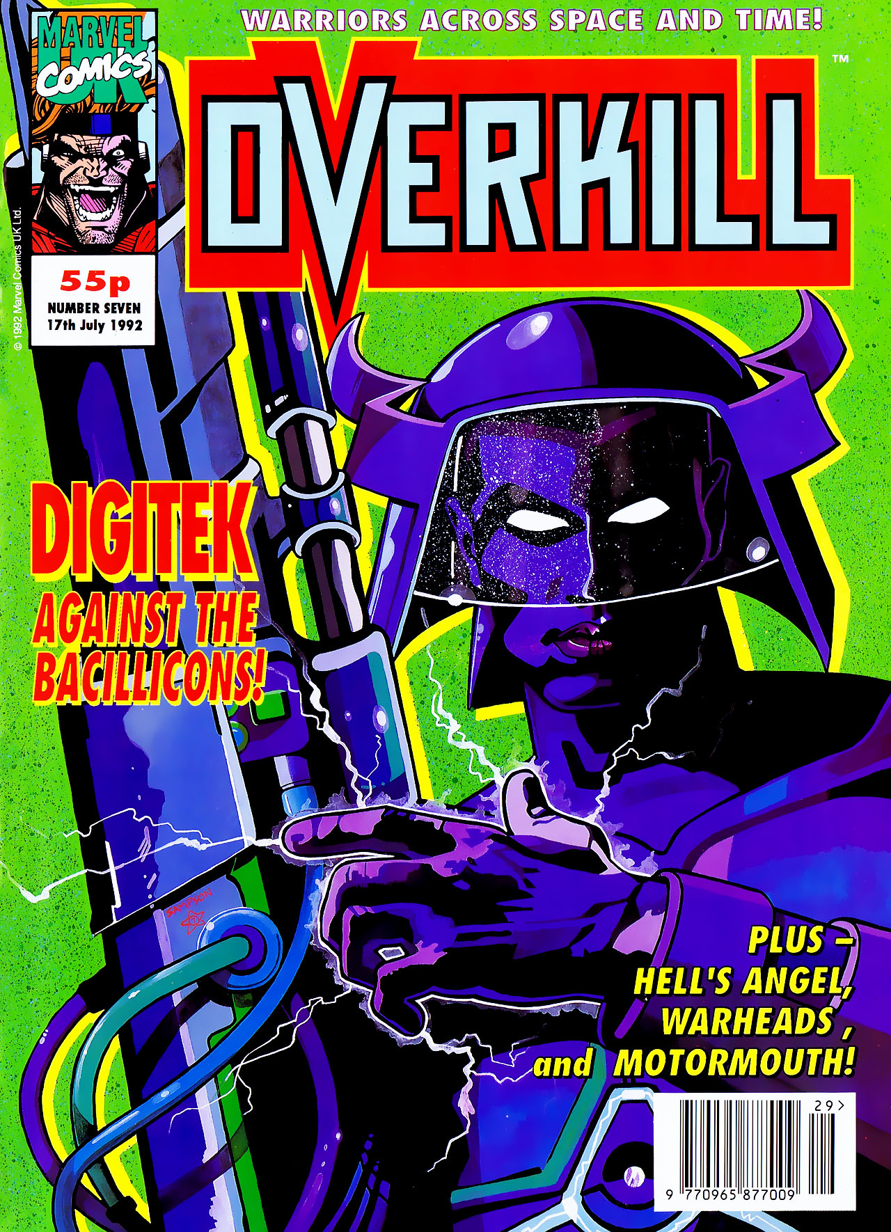 Read online Overkill comic -  Issue #7 - 1