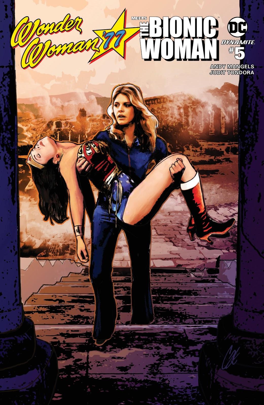Wonder Woman 77 Meets The Bionic Woman 5 Page 1