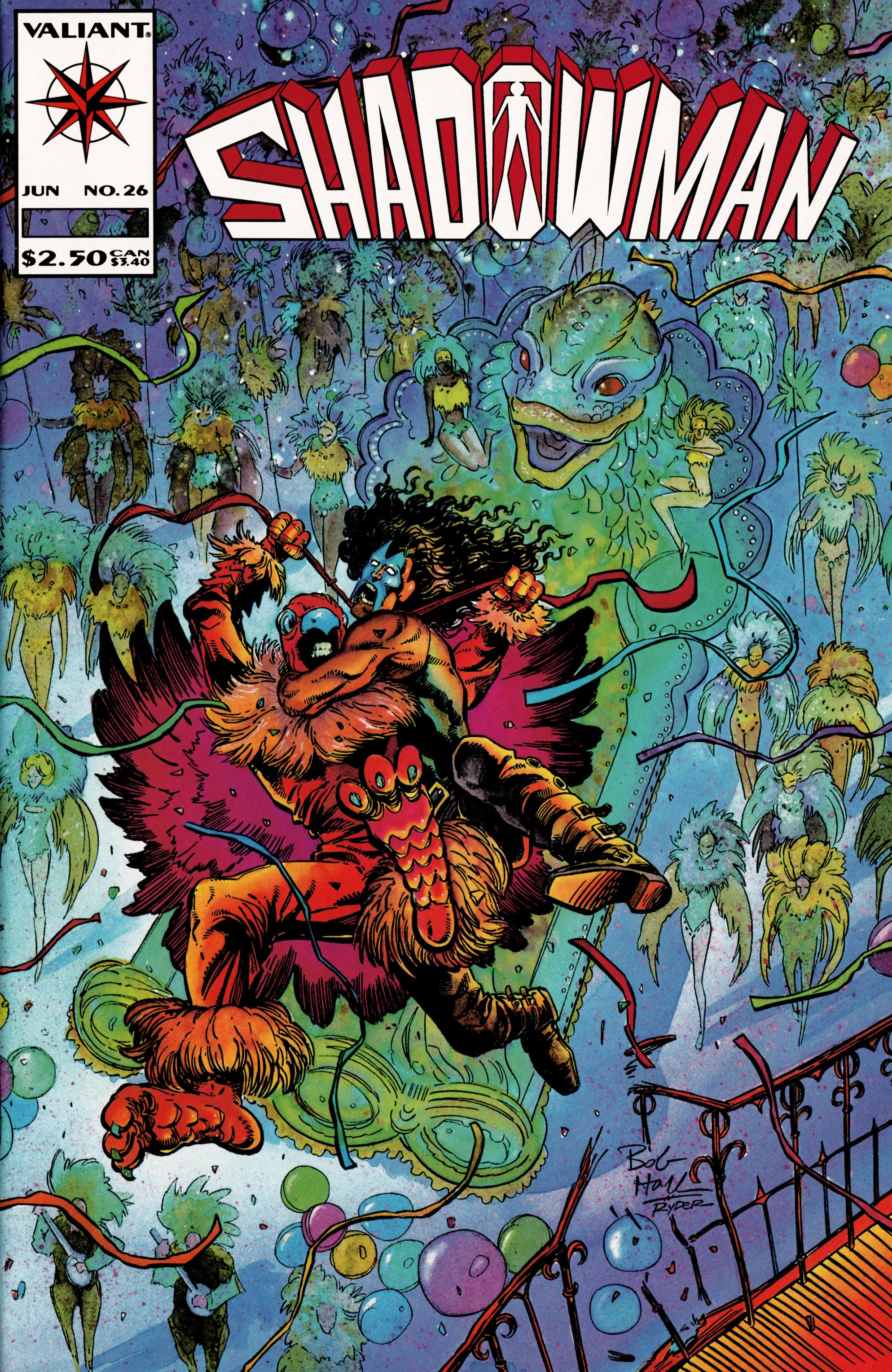 Read online Shadowman (1992) comic -  Issue #26 - 1