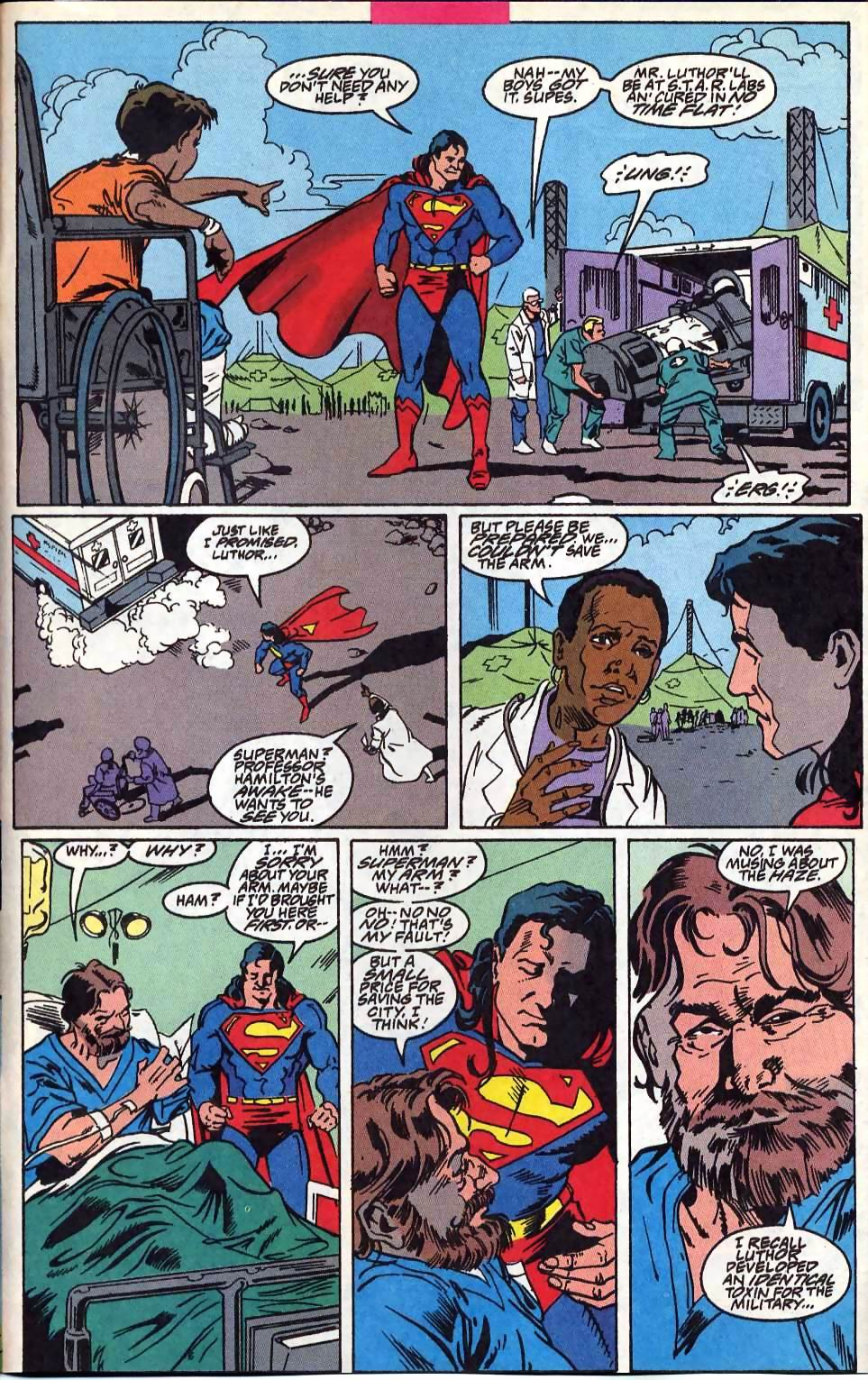 Read online Adventures of Superman (1987) comic -  Issue #514 - 22
