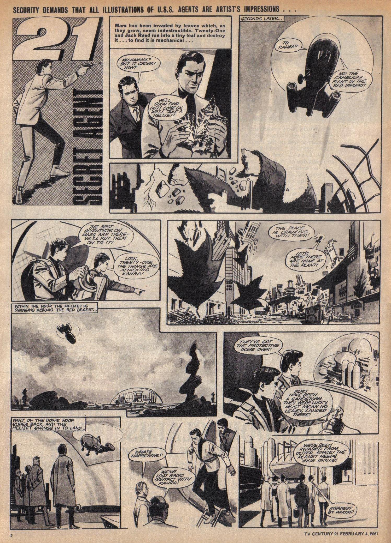 Read online TV Century 21 (TV 21) comic -  Issue #107 - 2