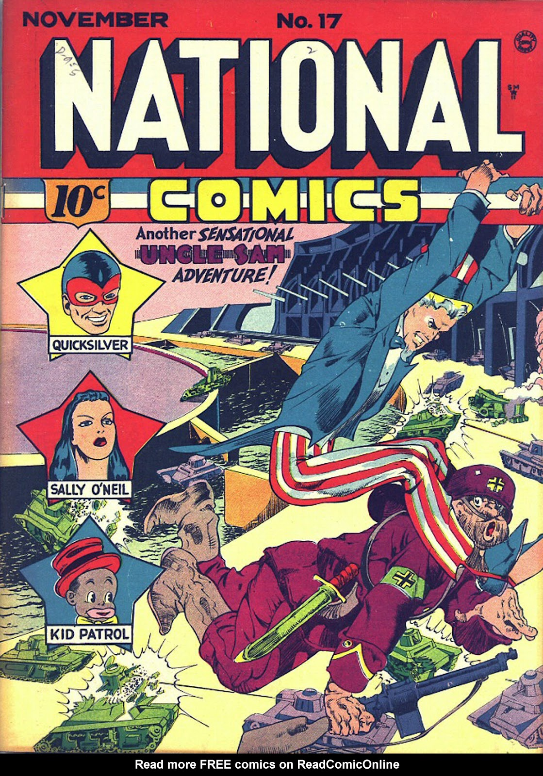 National Comics (1940) issue 17 - Page 1
