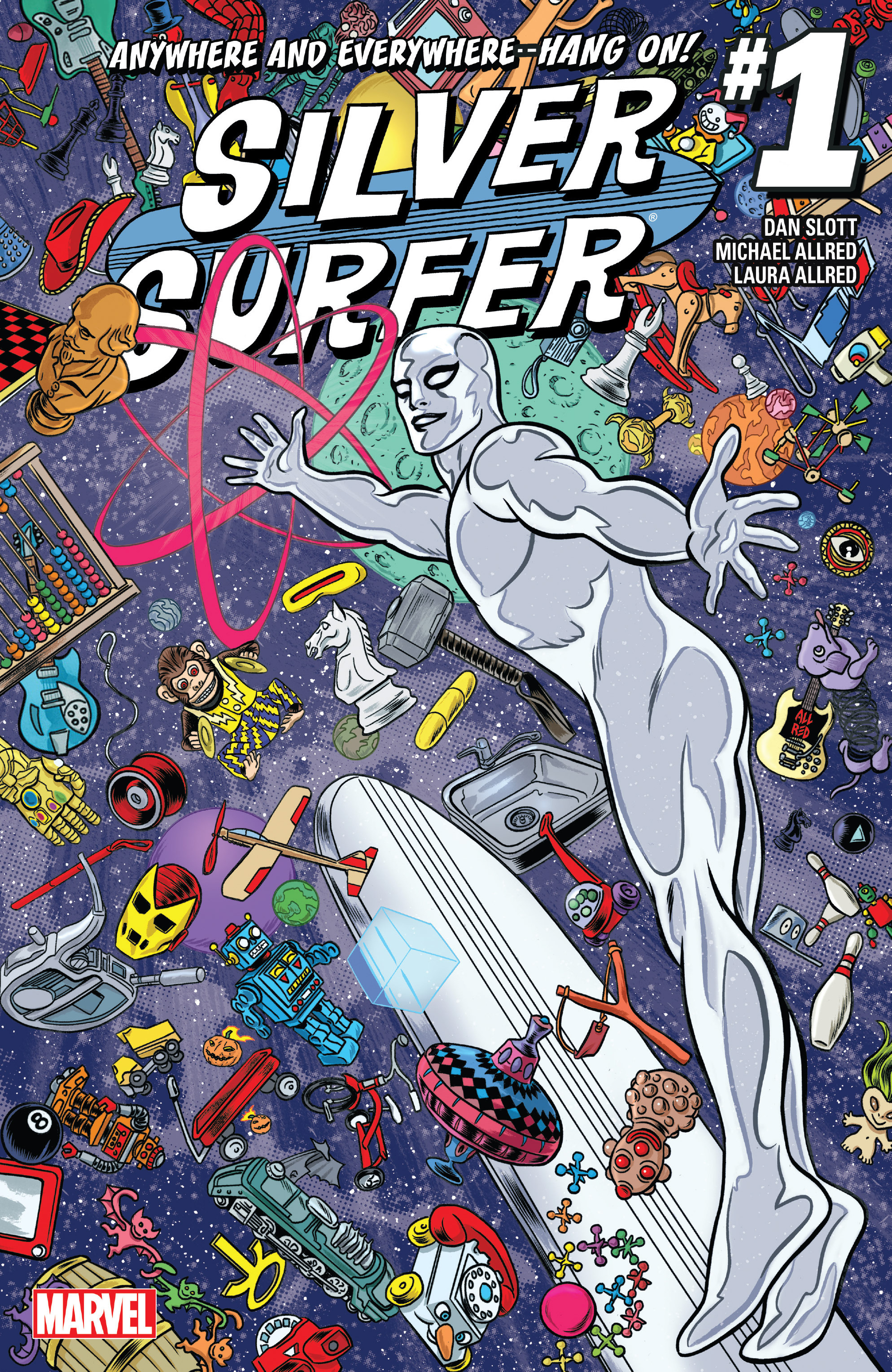 Read online Silver Surfer (2016) comic -  Issue #1 - 1
