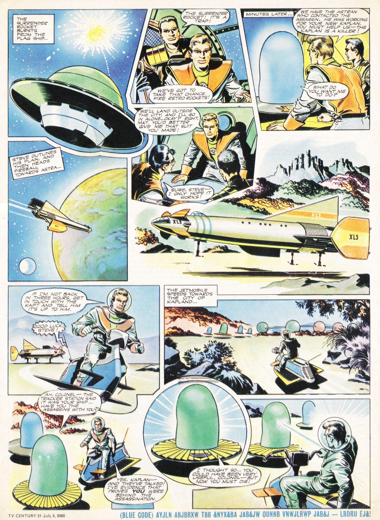 Read online TV Century 21 (TV 21) comic -  Issue #24 - 5