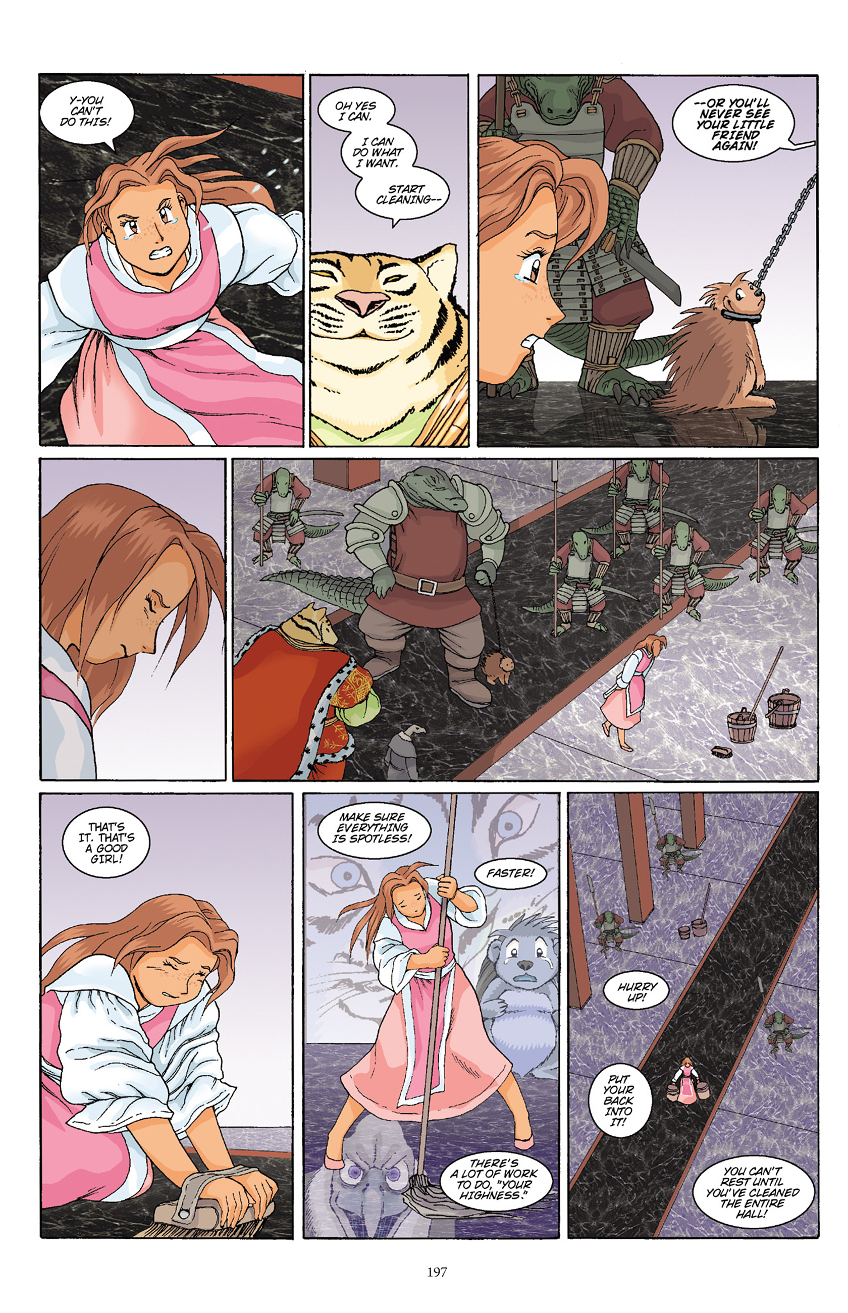 Read online Courageous Princess comic -  Issue # TPB 1 - 194