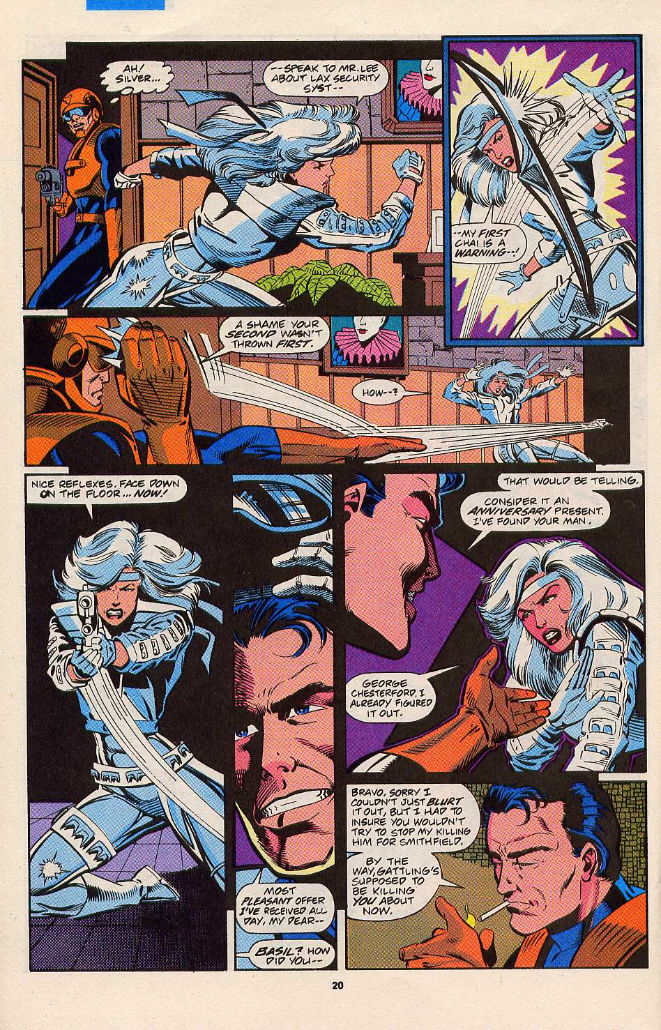 Read online Silver Sable and the Wild Pack comic -  Issue #3 - 17