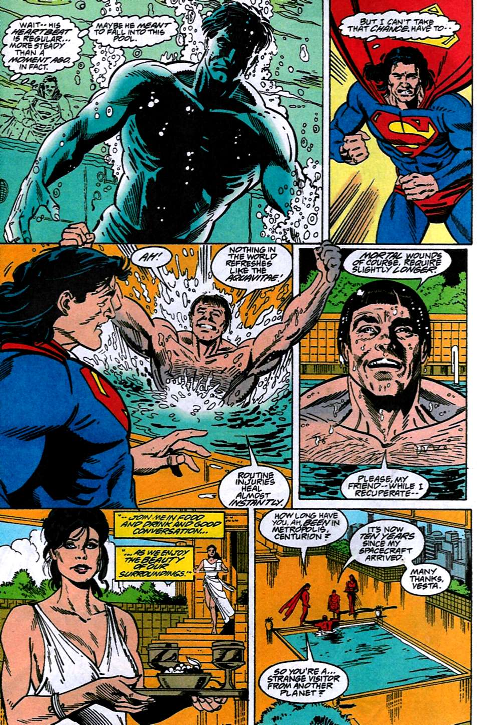 Read online Adventures of Superman (1987) comic -  Issue #516 - 16