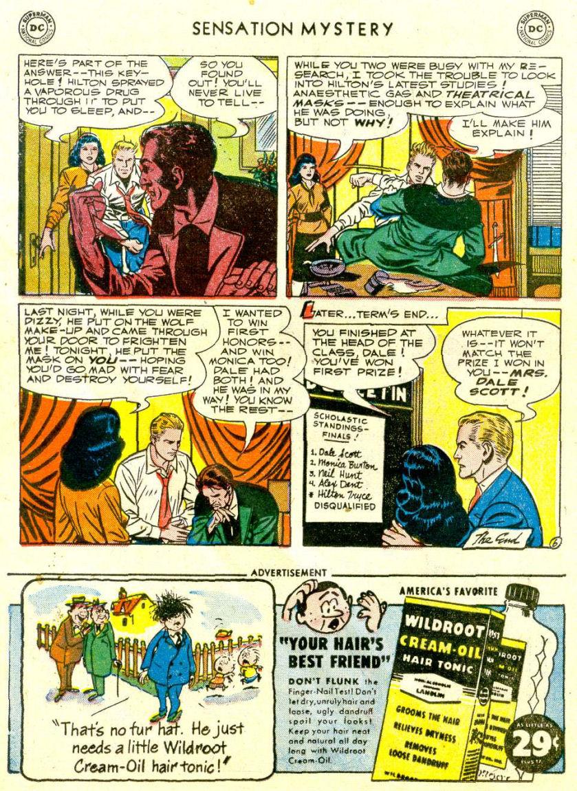 Read online Sensation (Mystery) Comics comic -  Issue #112 - 20