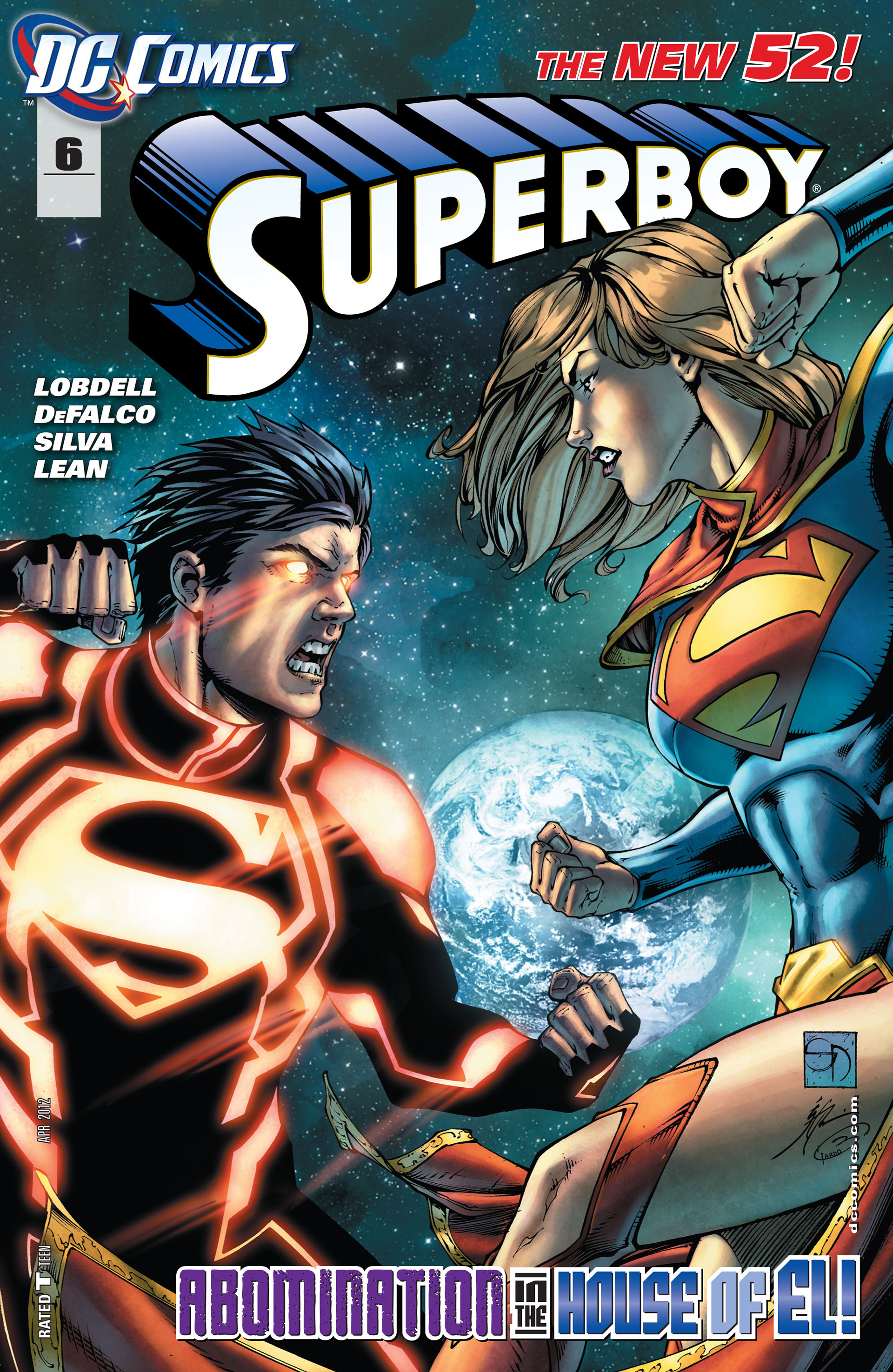 Superboy [II] issue 6 - Page 1