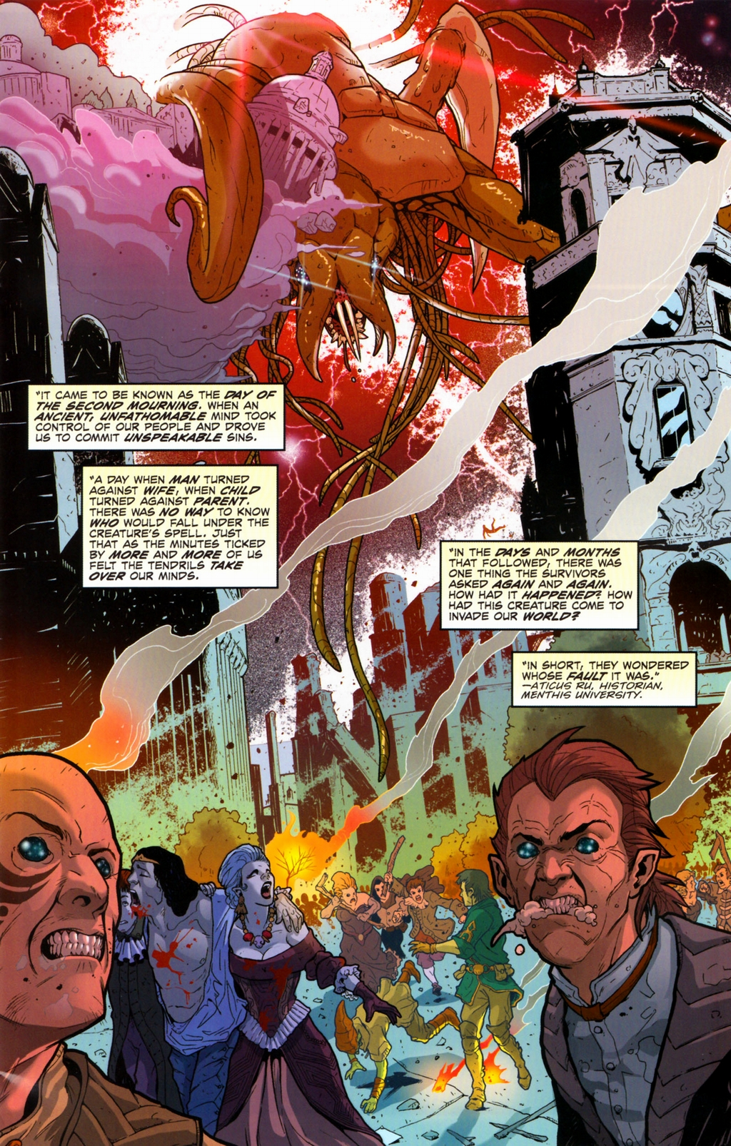 Read online Infestation 2: Dungeons & Dragons comic -  Issue #2 - 3
