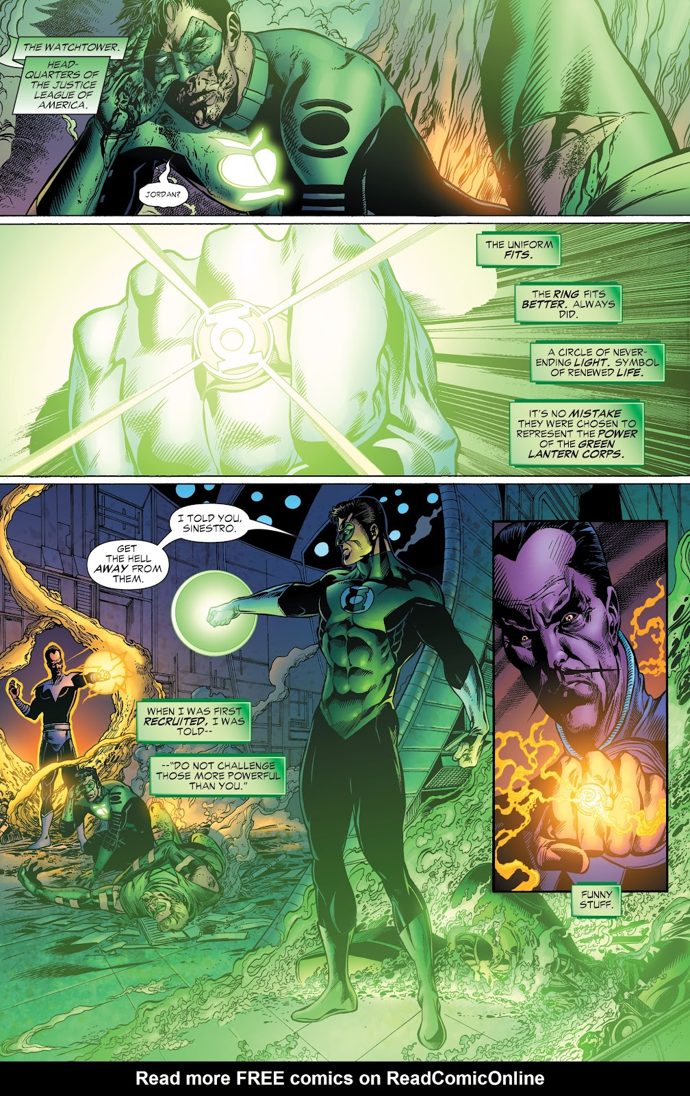 Read online Green Lantern by Geoff Johns comic -  Issue # TPB 1 (Part 2) - 14