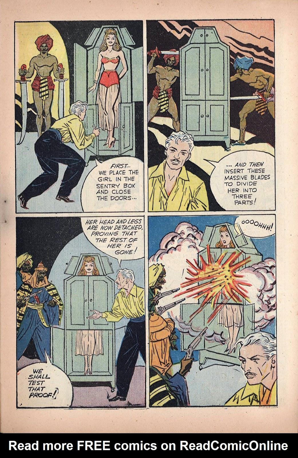 Read online Super-Magician Comics comic -  Issue #20 - 13