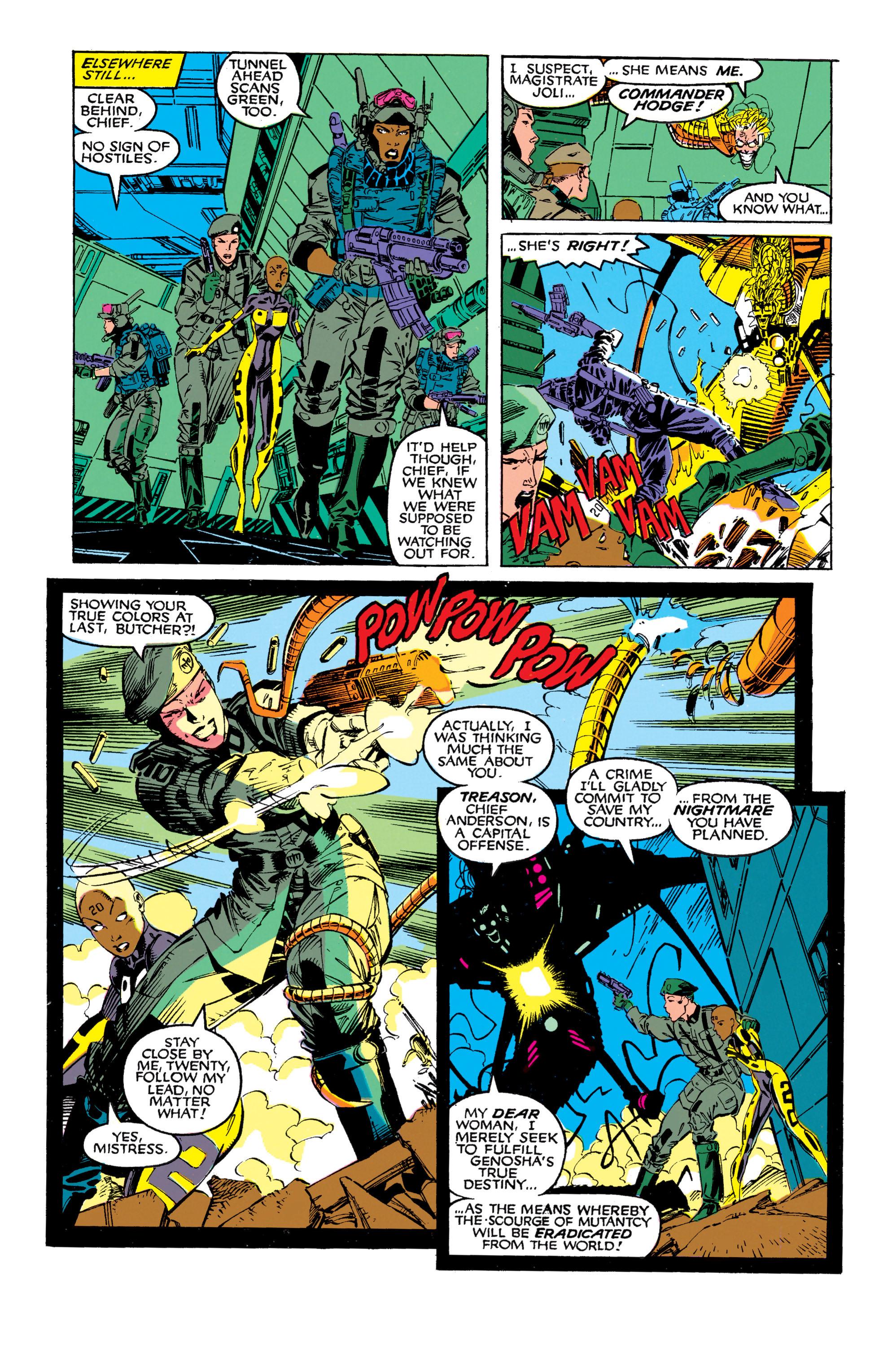 Read online Uncanny X-Men (1963) comic -  Issue #272 - 19