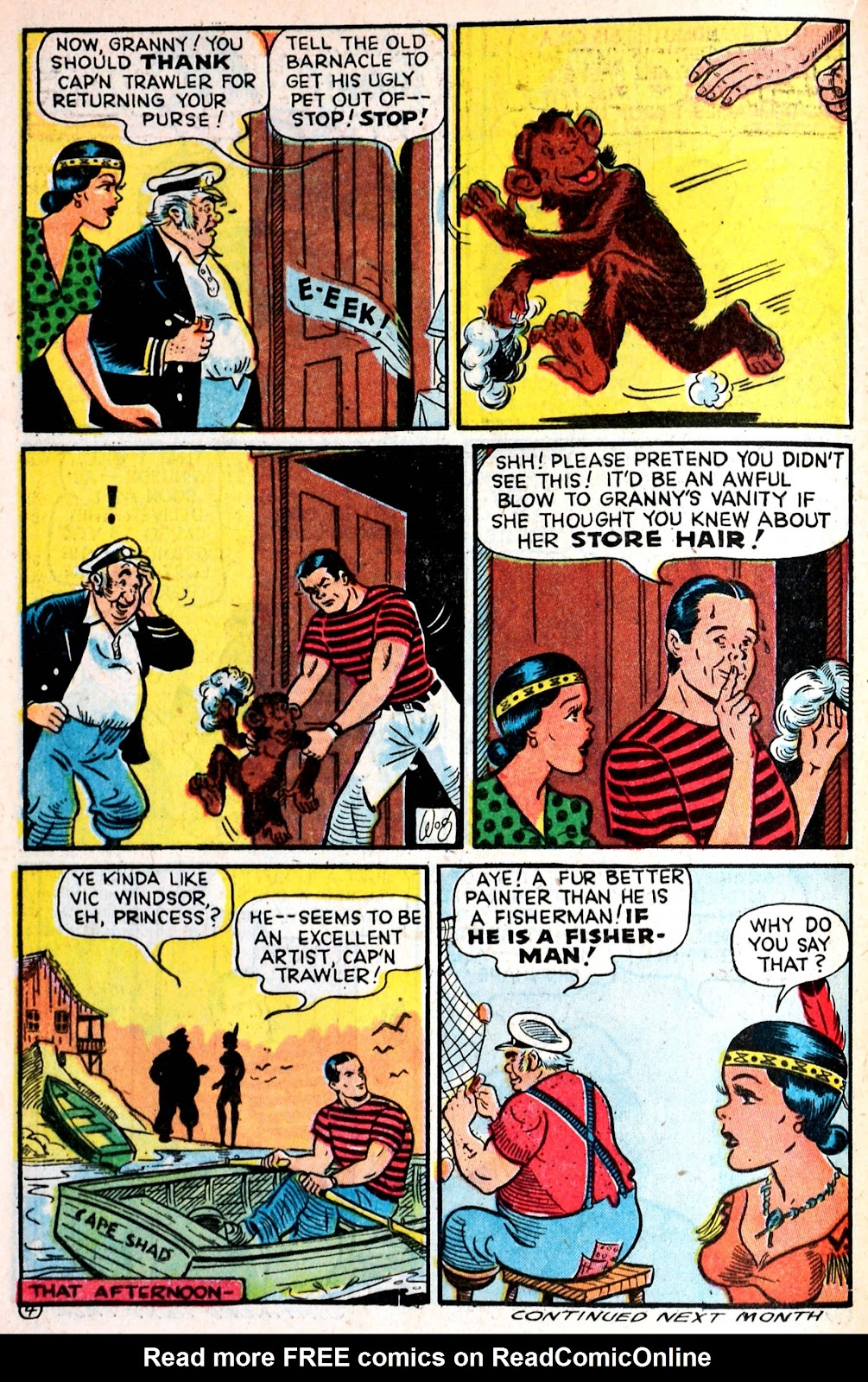 Read online Famous Funnies comic -  Issue #139 - 24