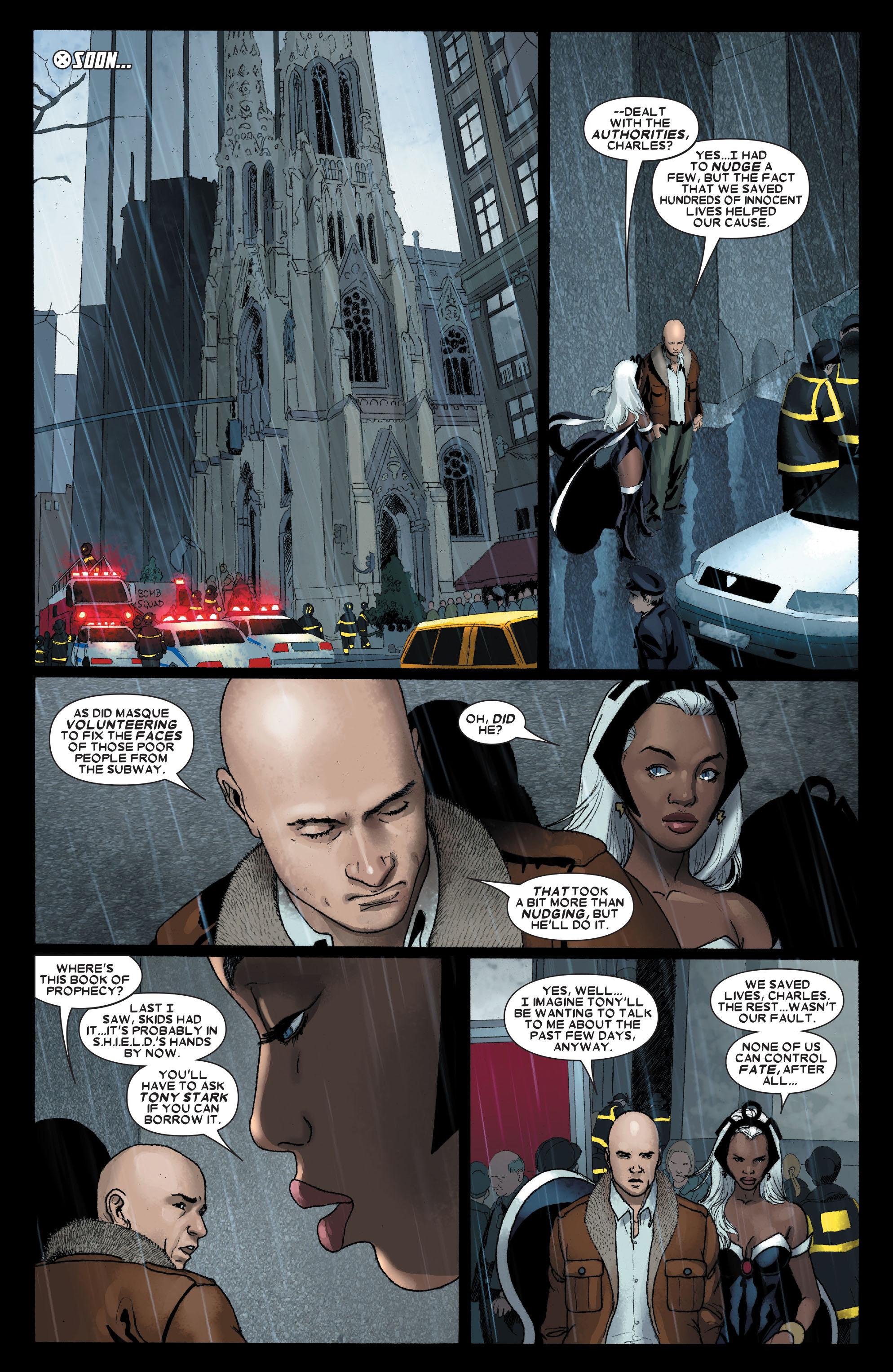 Read online Uncanny X-Men (1963) comic -  Issue #491 - 19
