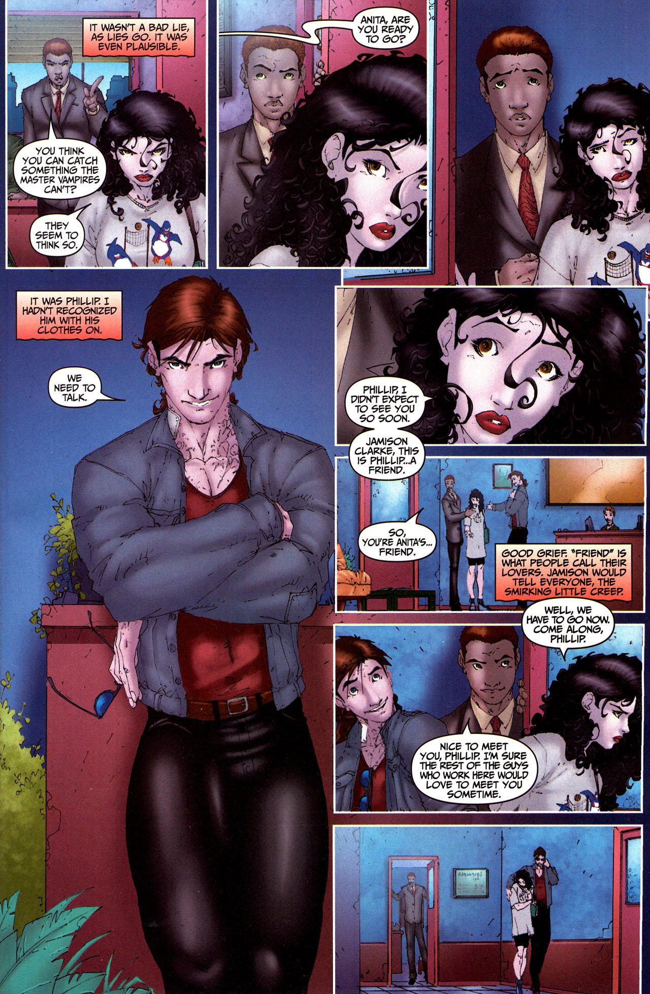 Read online Anita Blake, Vampire Hunter: Guilty Pleasures comic -  Issue #5 - 11